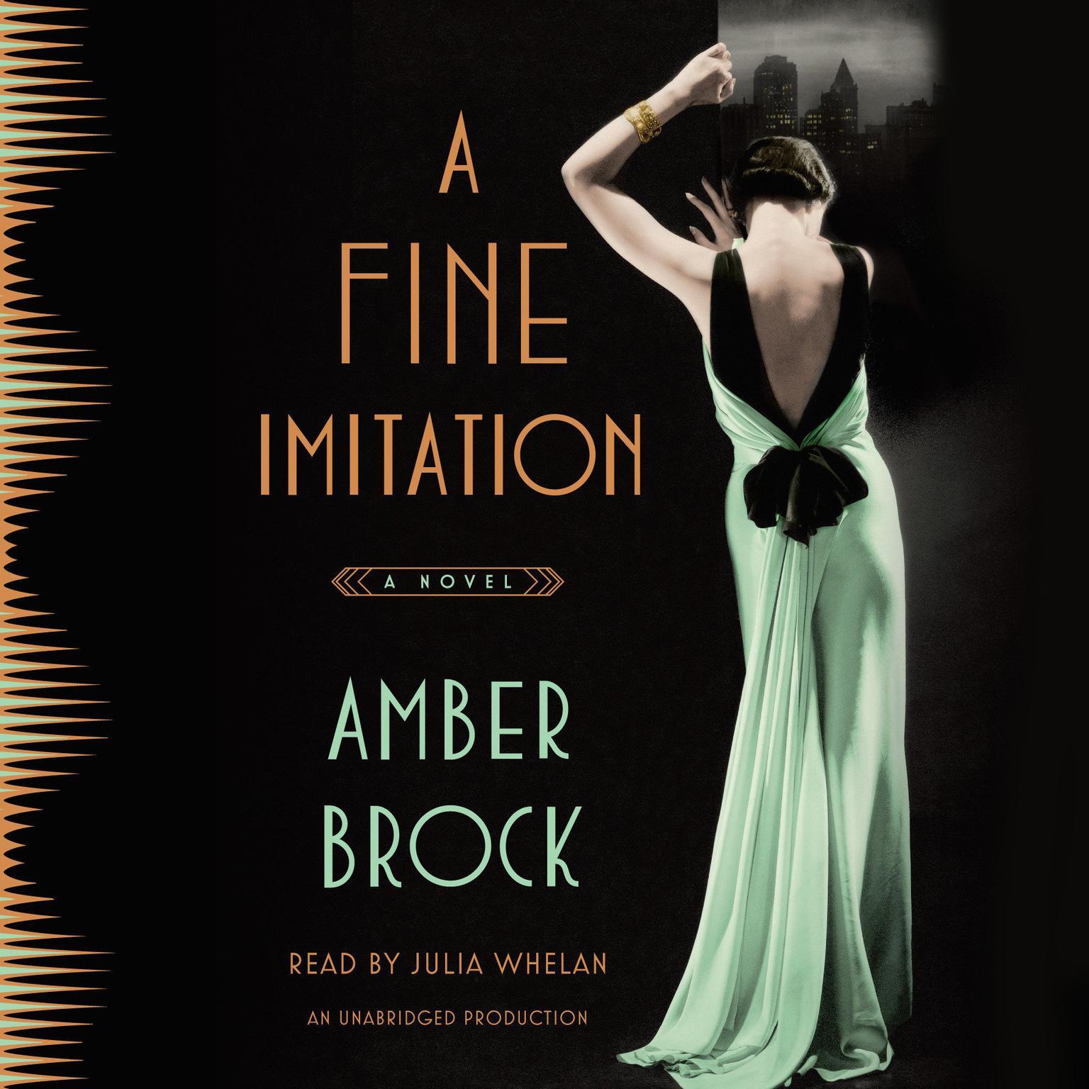 Printable A Fine Imitation: A Novel Audiobook Cover Art