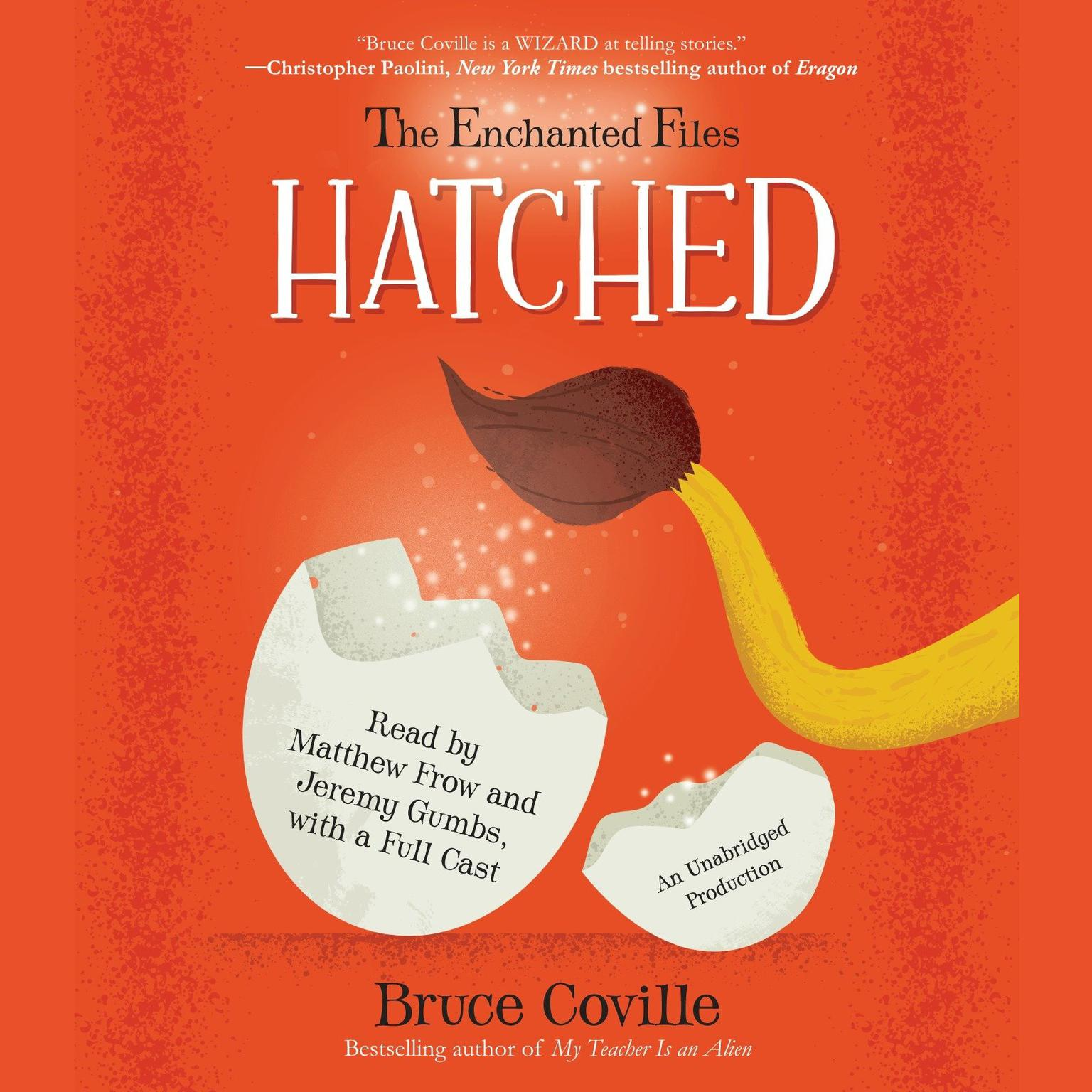 Printable The Enchanted Files: Hatched Audiobook Cover Art
