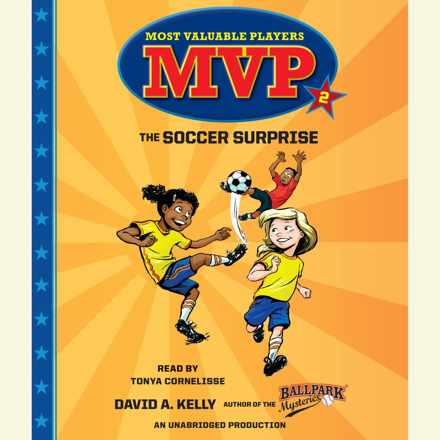 Printable The Soccer Surprise Audiobook Cover Art