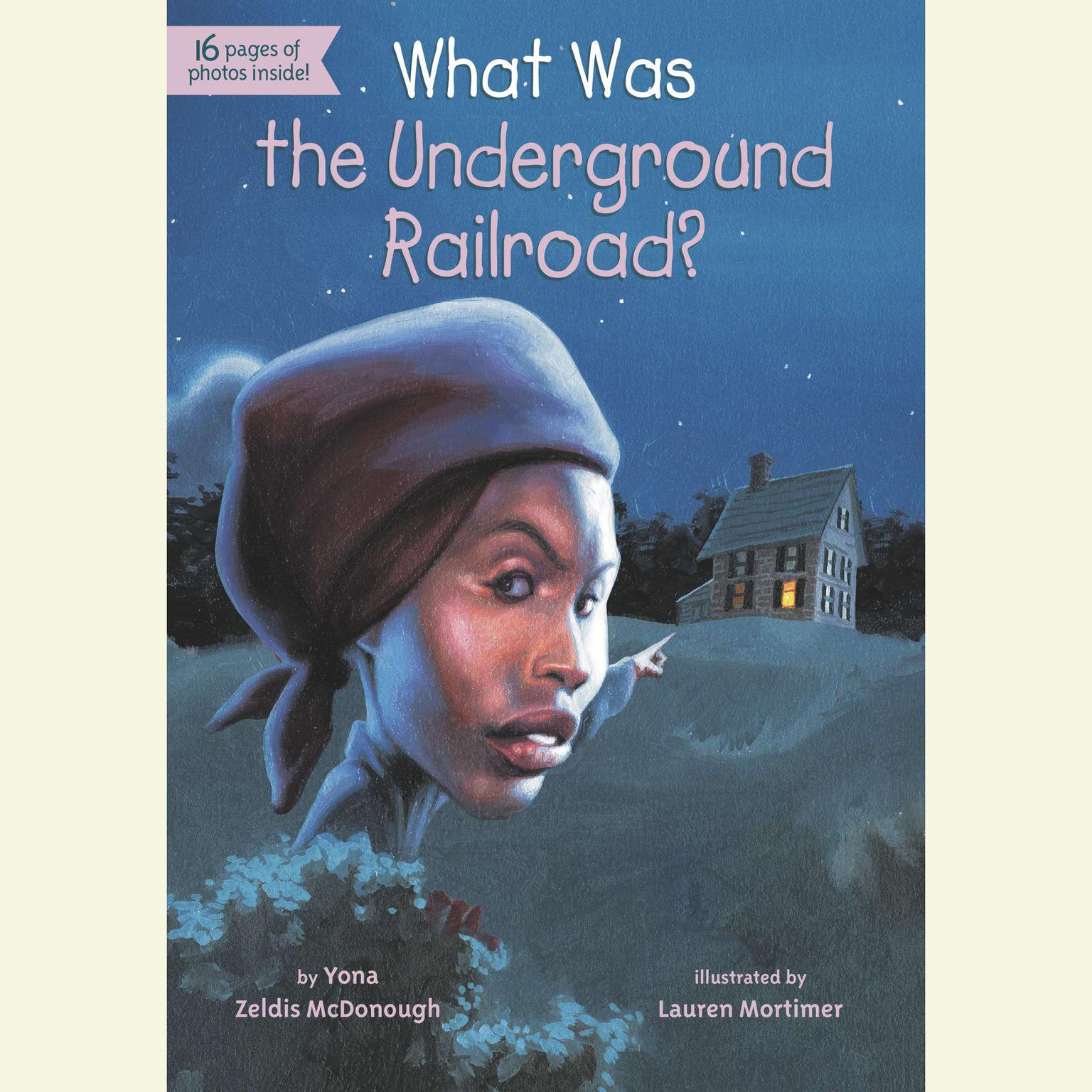 Printable What Was the Underground Railroad? Audiobook Cover Art