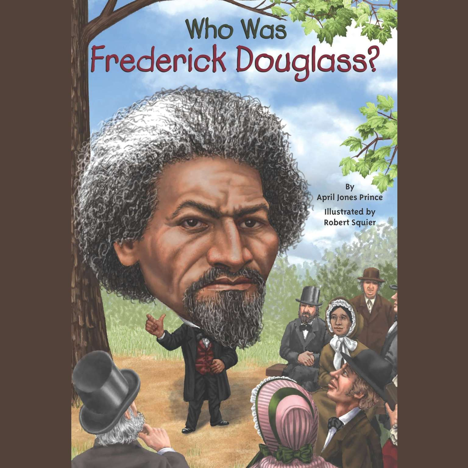 Printable Who Was Frederick Douglass? Audiobook Cover Art