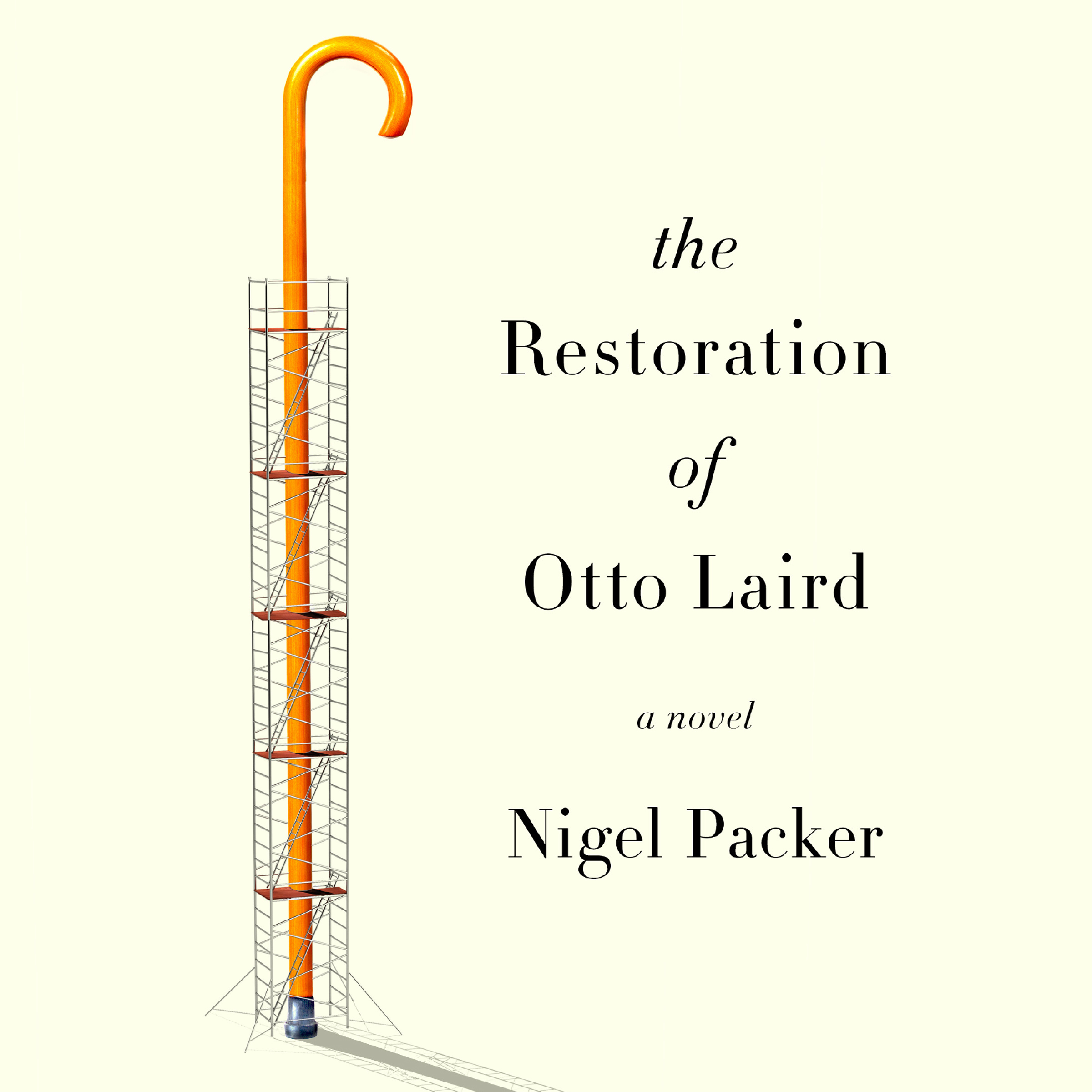Printable The Restoration of Otto Laird: A Novel Audiobook Cover Art