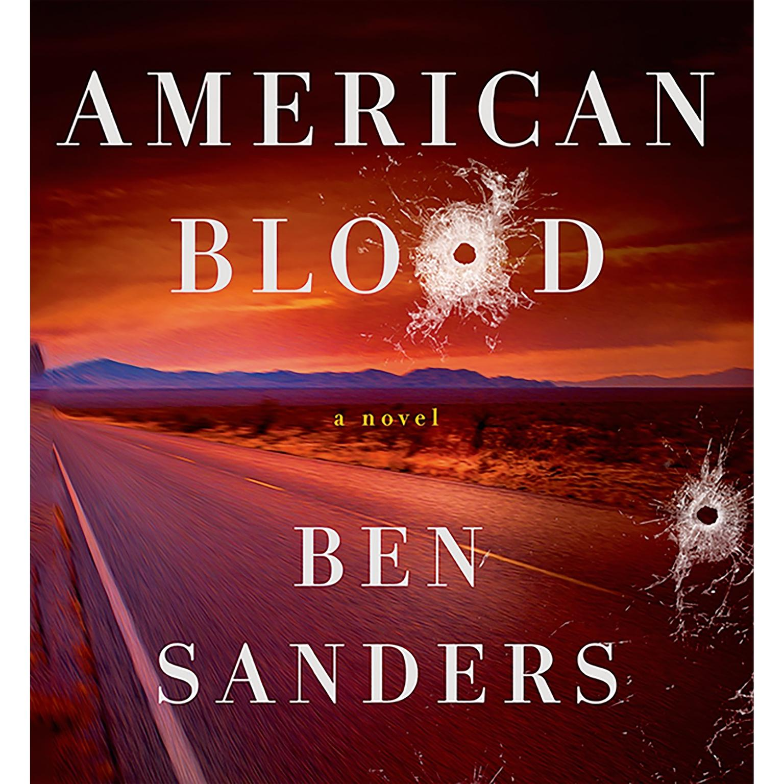 Printable American Blood: A Novel Audiobook Cover Art