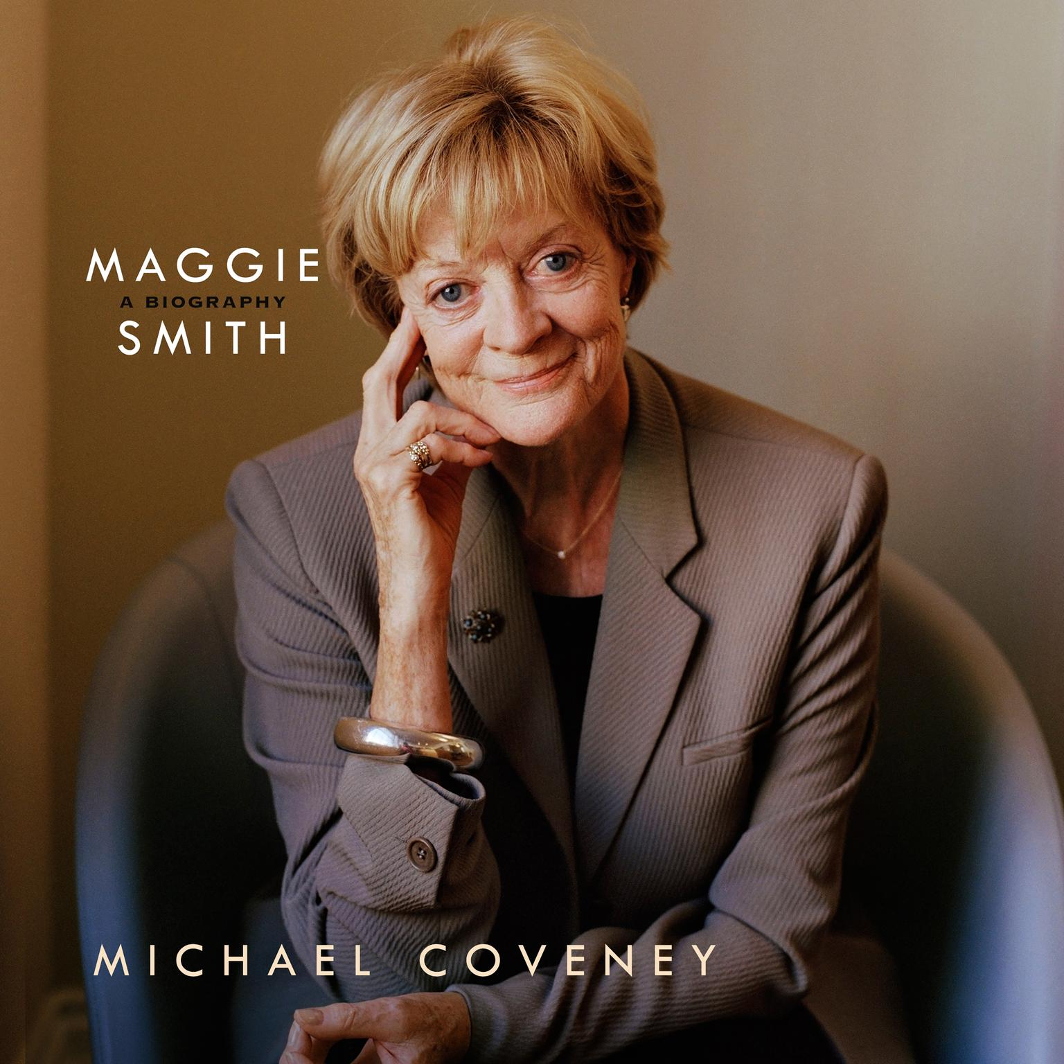 Printable Maggie Smith: A Biography Audiobook Cover Art