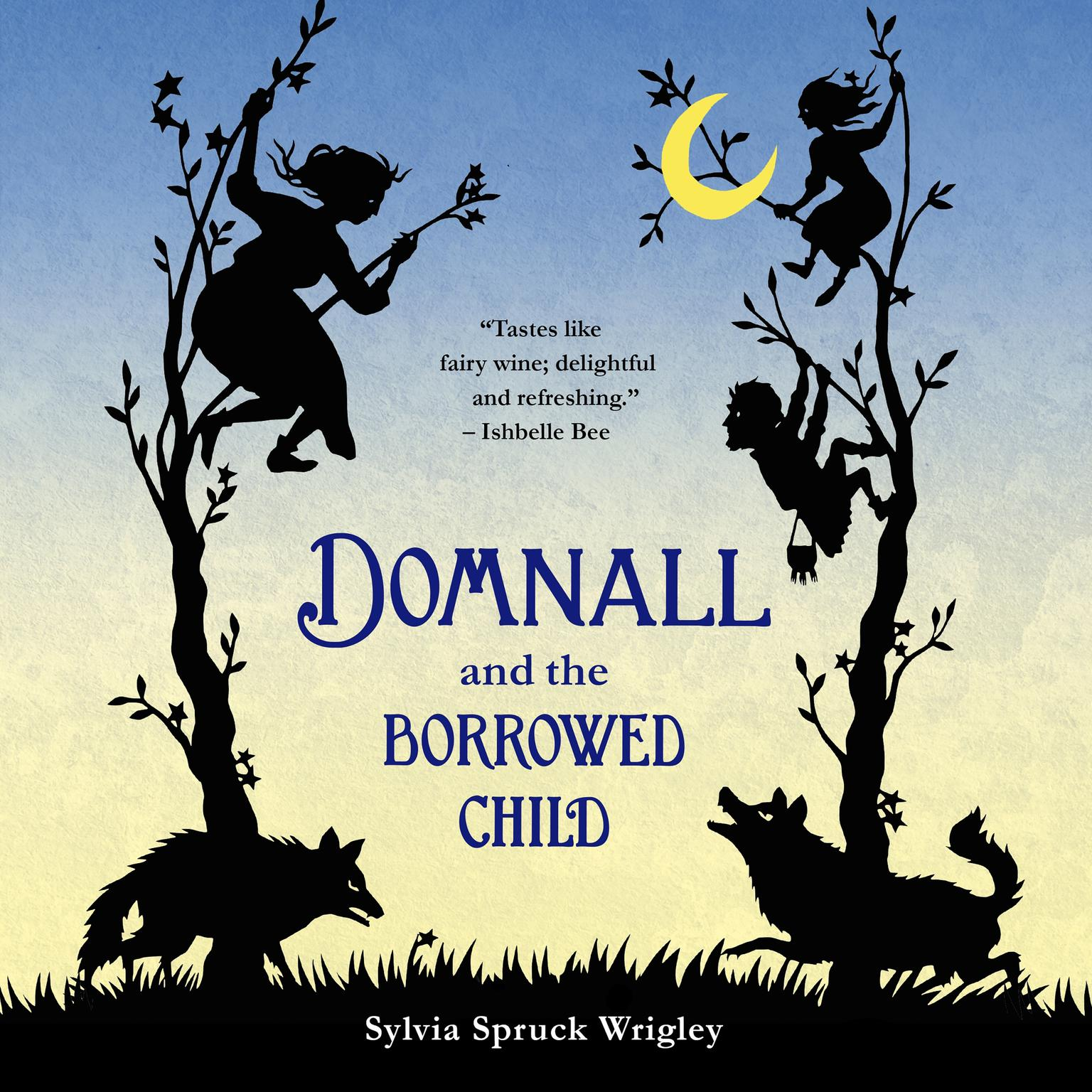 Printable Domnall and the Borrowed Child Audiobook Cover Art