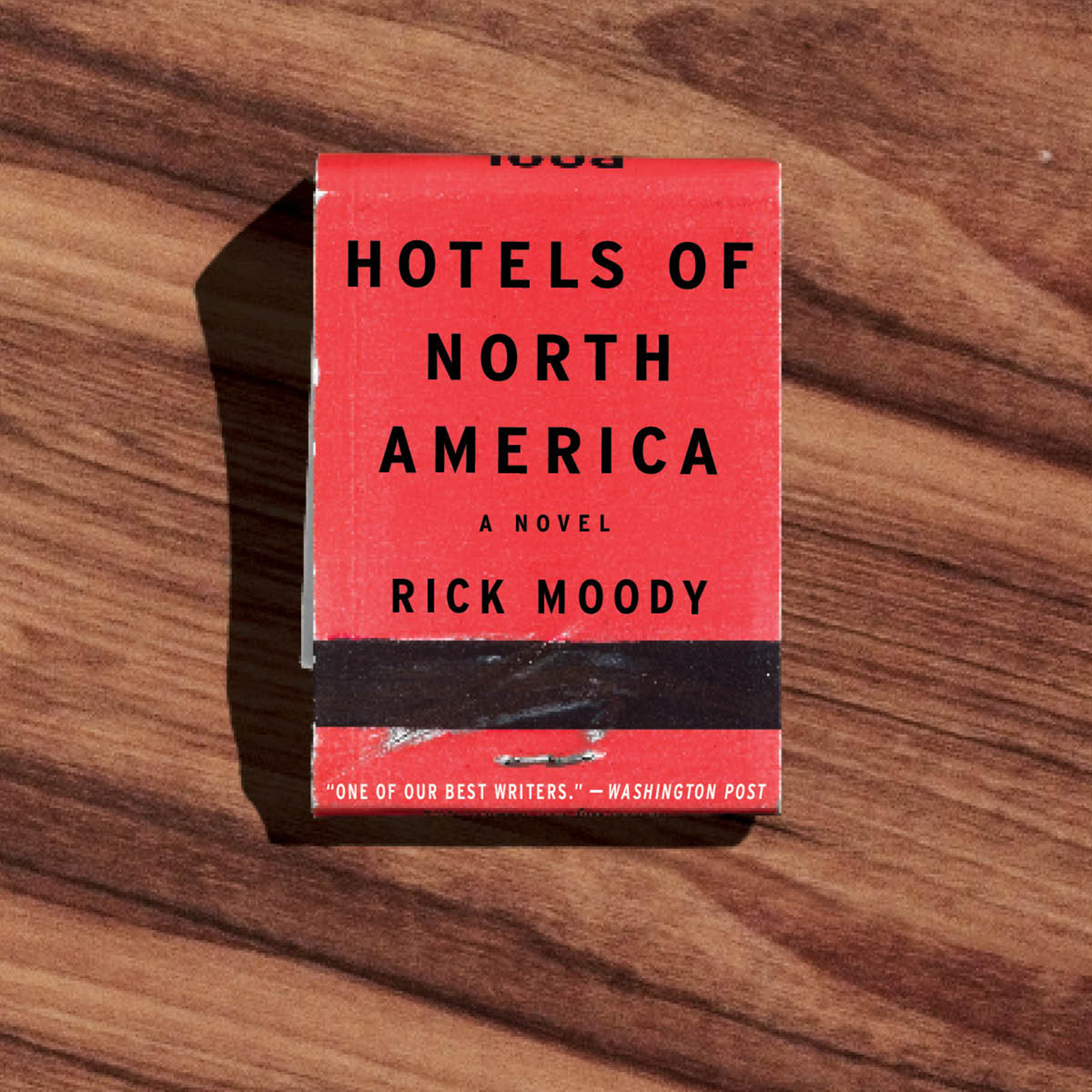 Printable Hotels of North America: A Novel Audiobook Cover Art