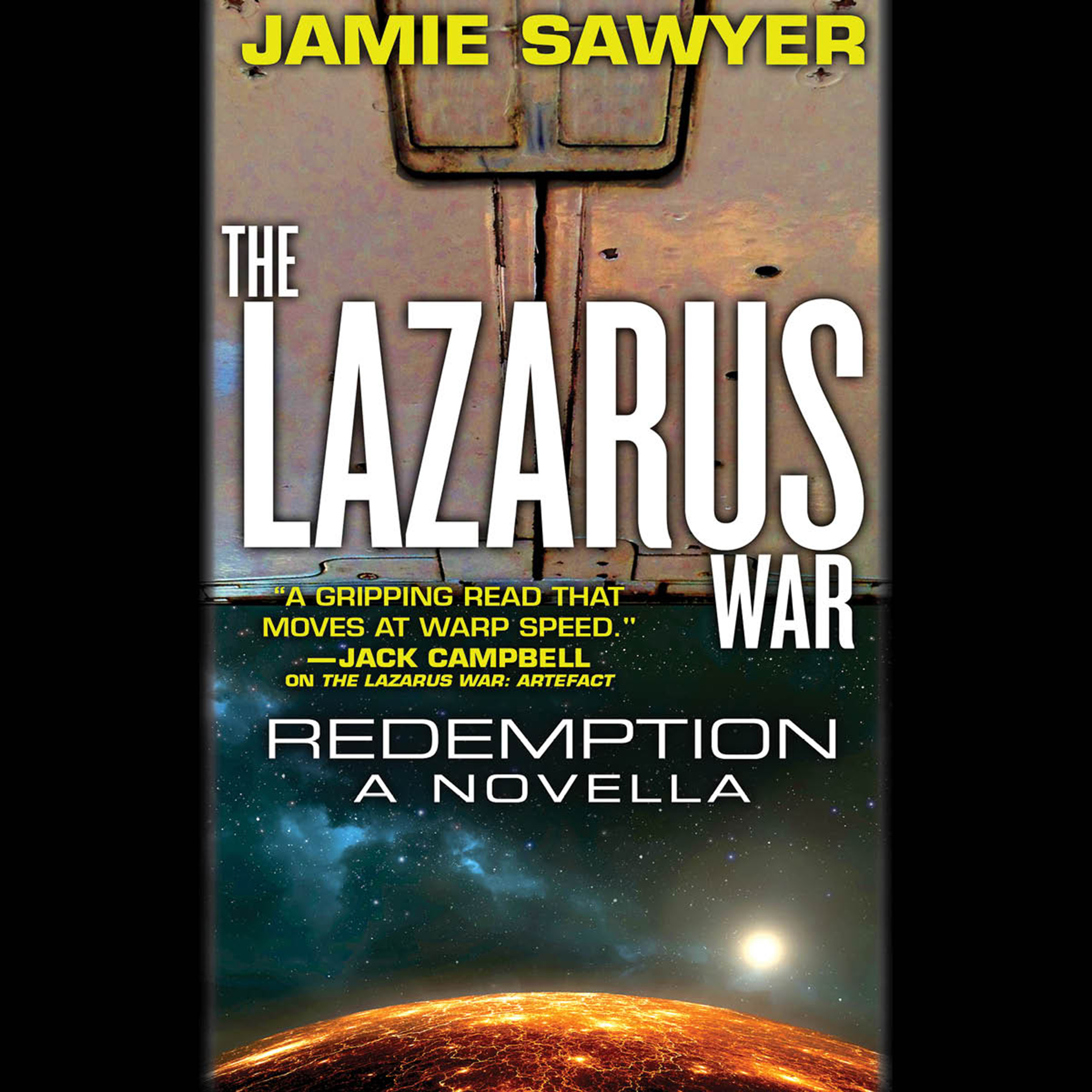 Printable The Lazarus War: Redemption: A Lazarus War Novella Audiobook Cover Art