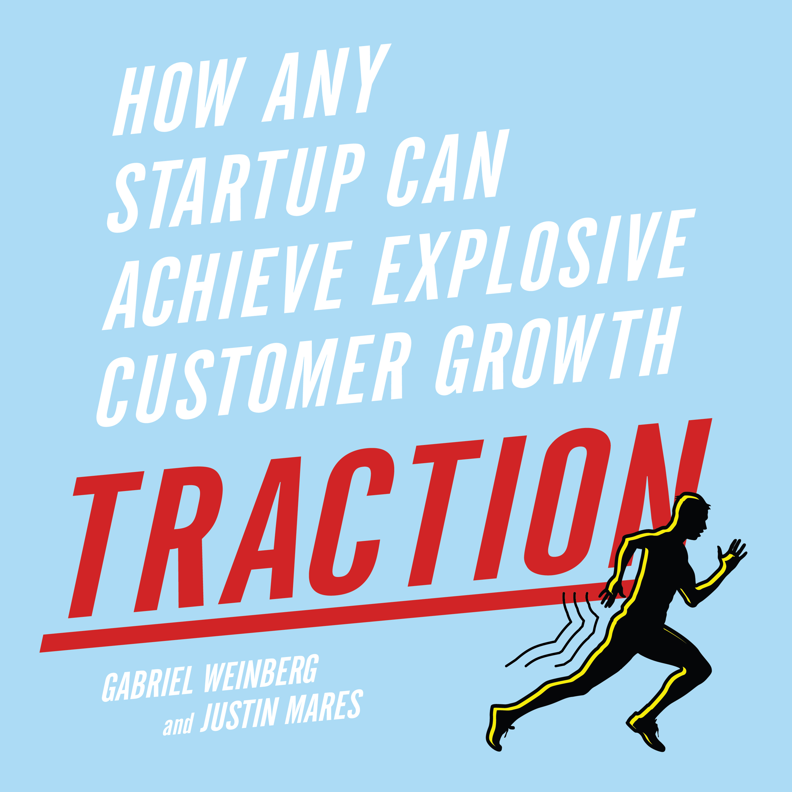 Printable Traction: How Any Startup Can Achieve Explosive Customer Growth Audiobook Cover Art