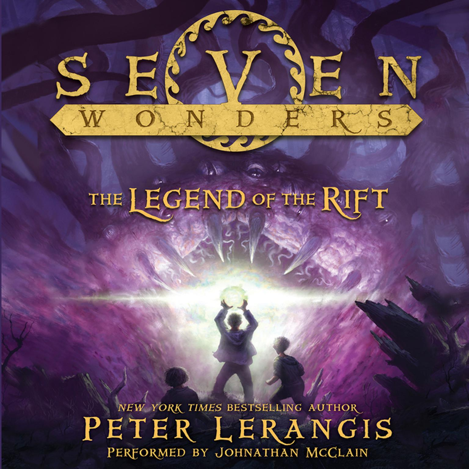 Printable Seven Wonders: The Legend of the Rift Audiobook Cover Art