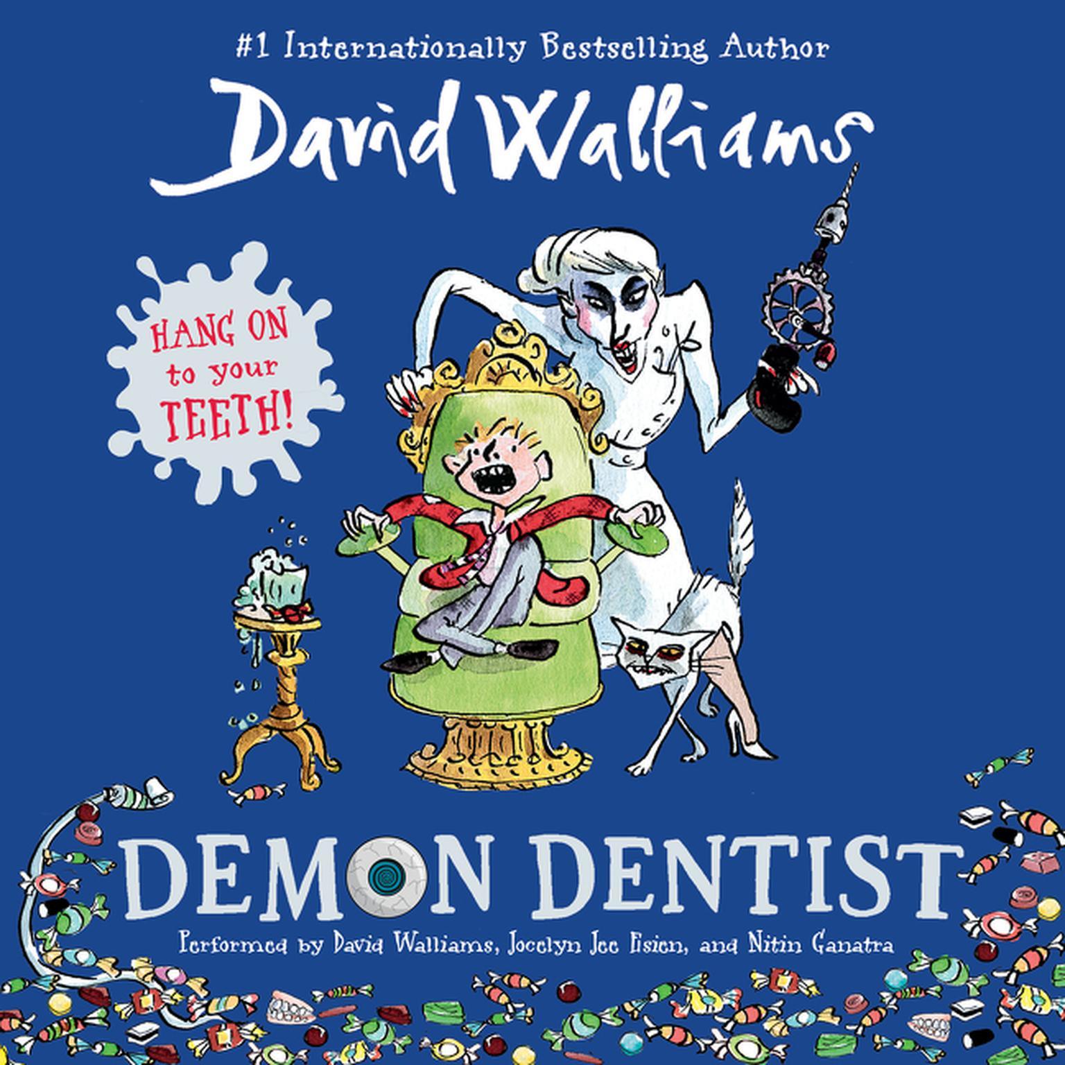 Printable Demon Dentist Audiobook Cover Art