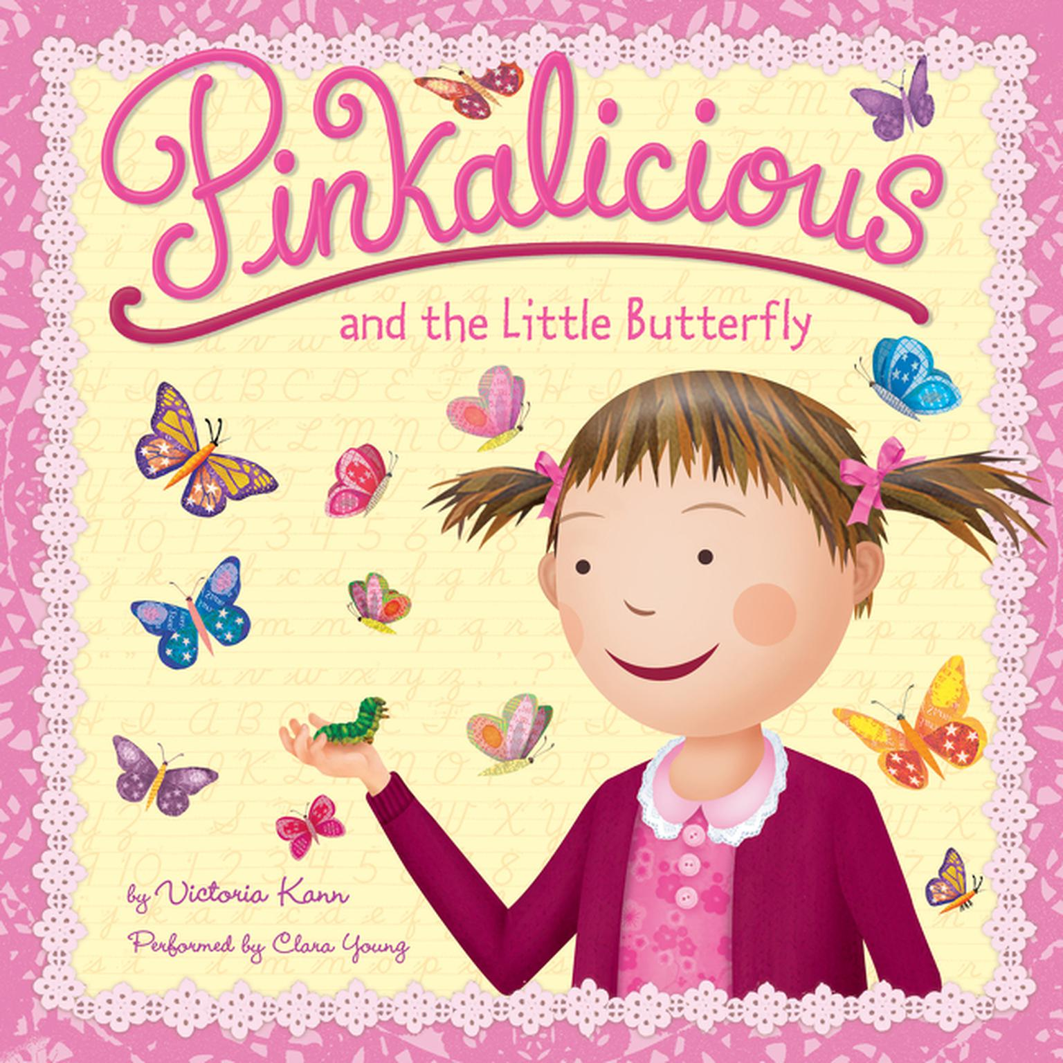 Printable Pinkalicious and the Little Butterfly Audiobook Cover Art