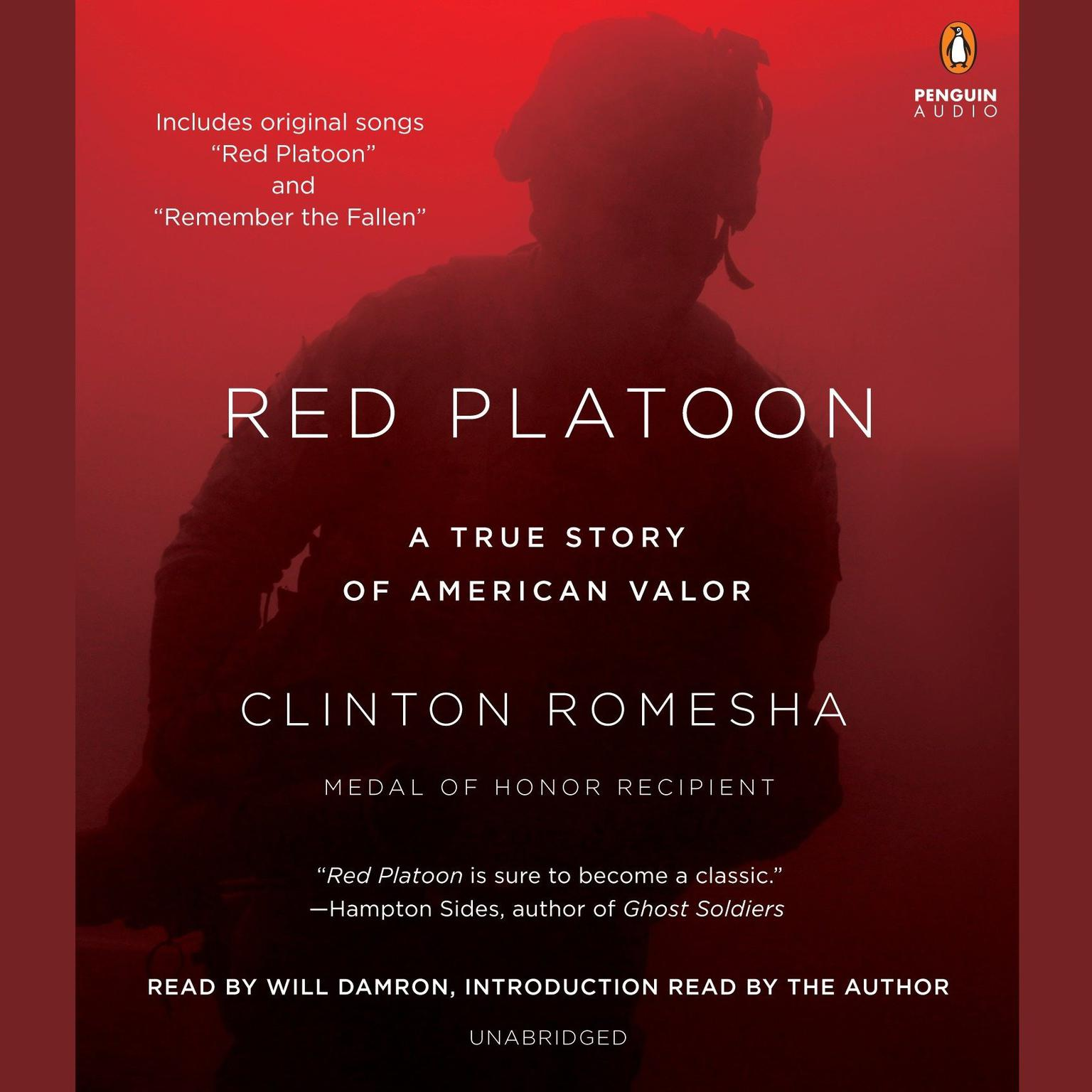 Printable Red Platoon: A True Story of American Valor Audiobook Cover Art