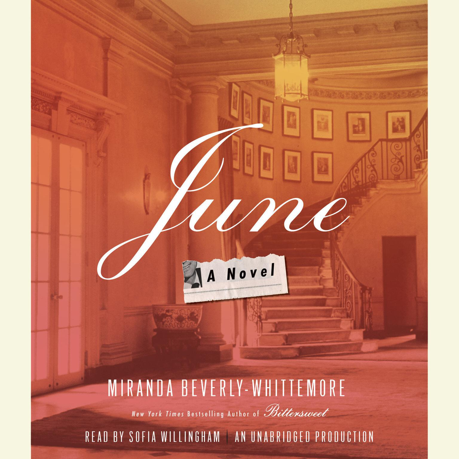 Printable June: A Novel Audiobook Cover Art