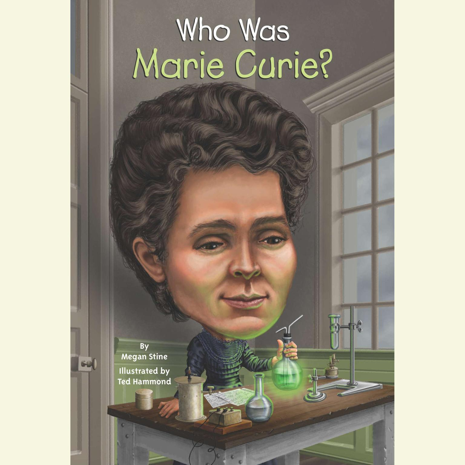 Printable Who Was Marie Curie? Audiobook Cover Art