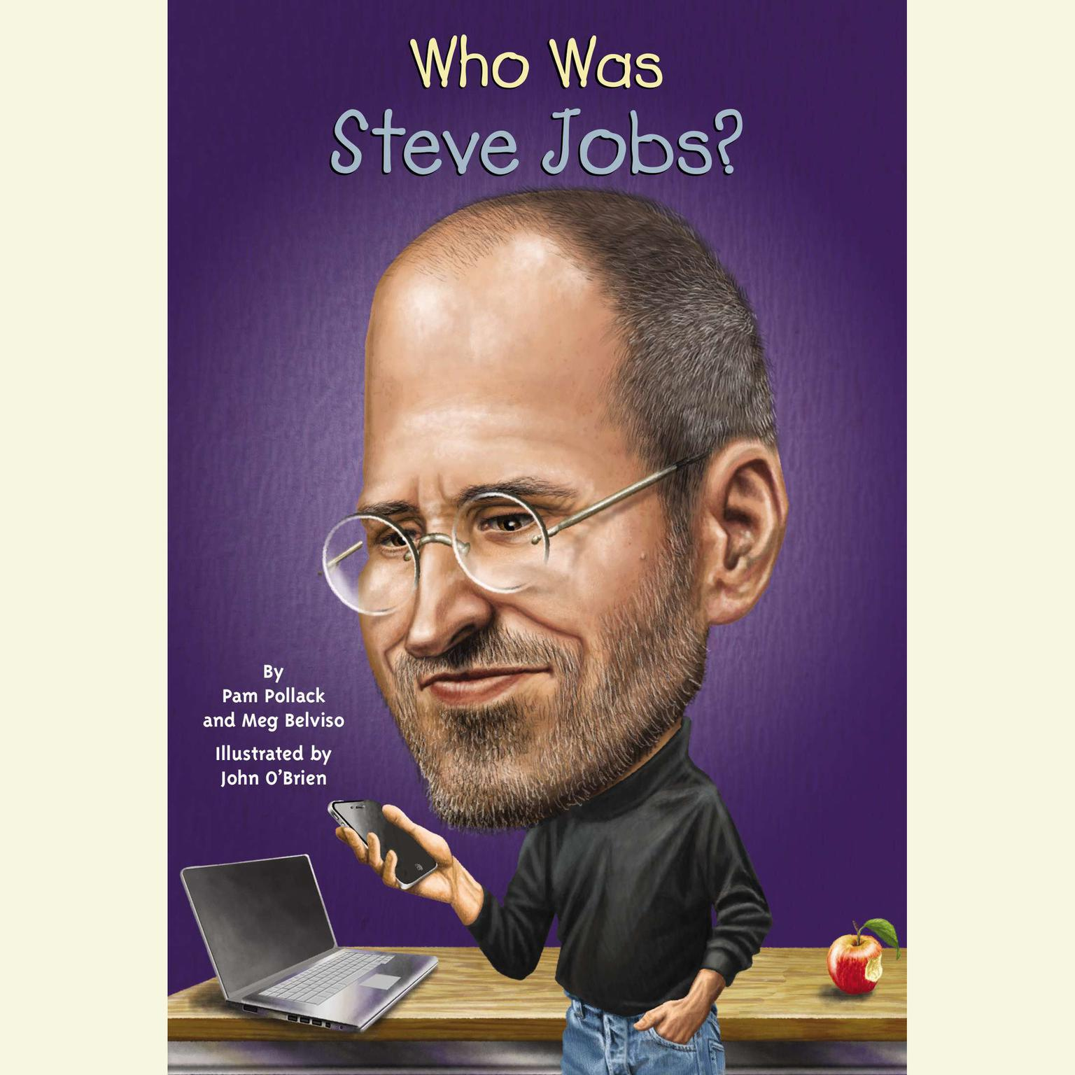 Printable Who Was Steve Jobs? Audiobook Cover Art