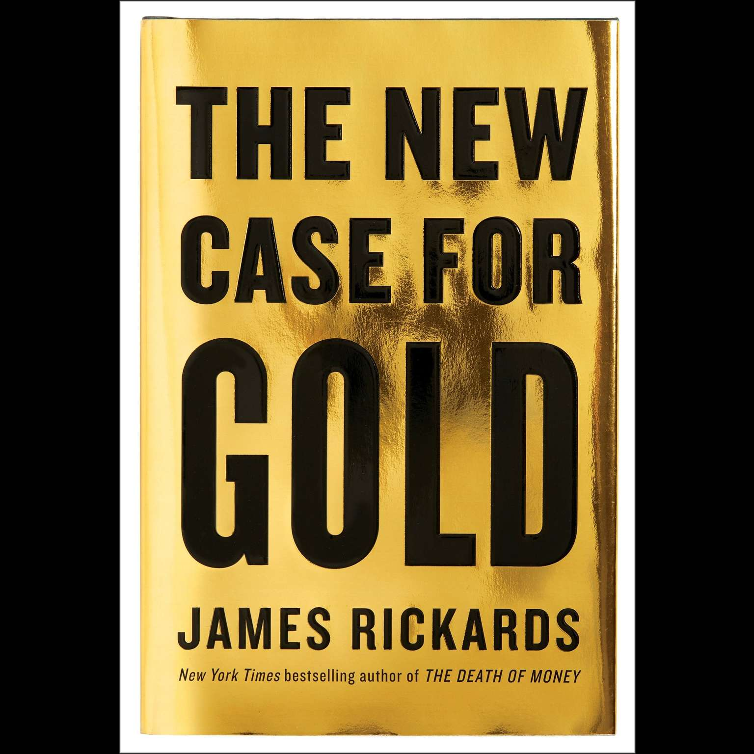 Printable The New Case for Gold Audiobook Cover Art