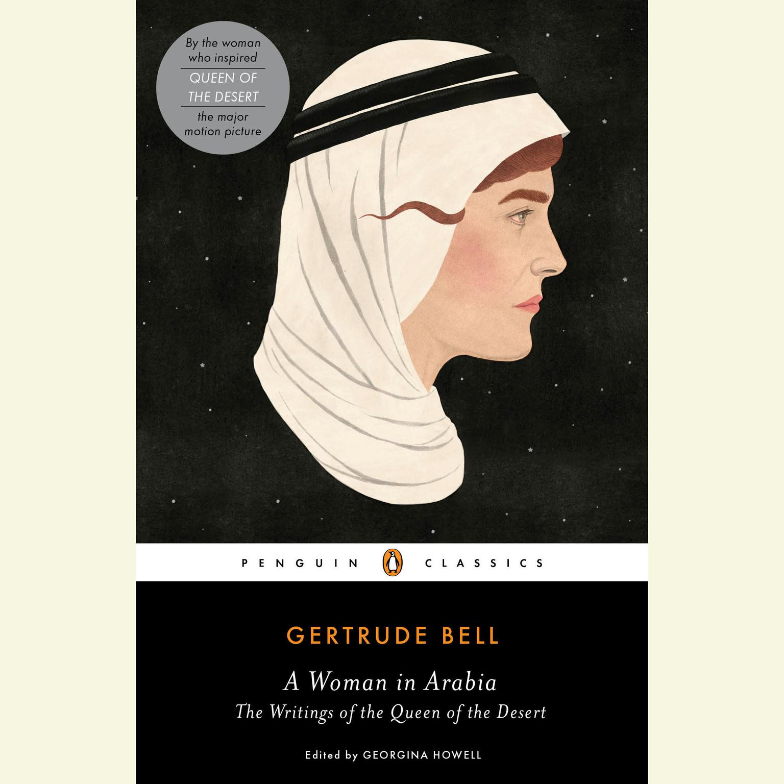 Printable A Woman in Arabia: The Writings of the Queen of the Desert Audiobook Cover Art