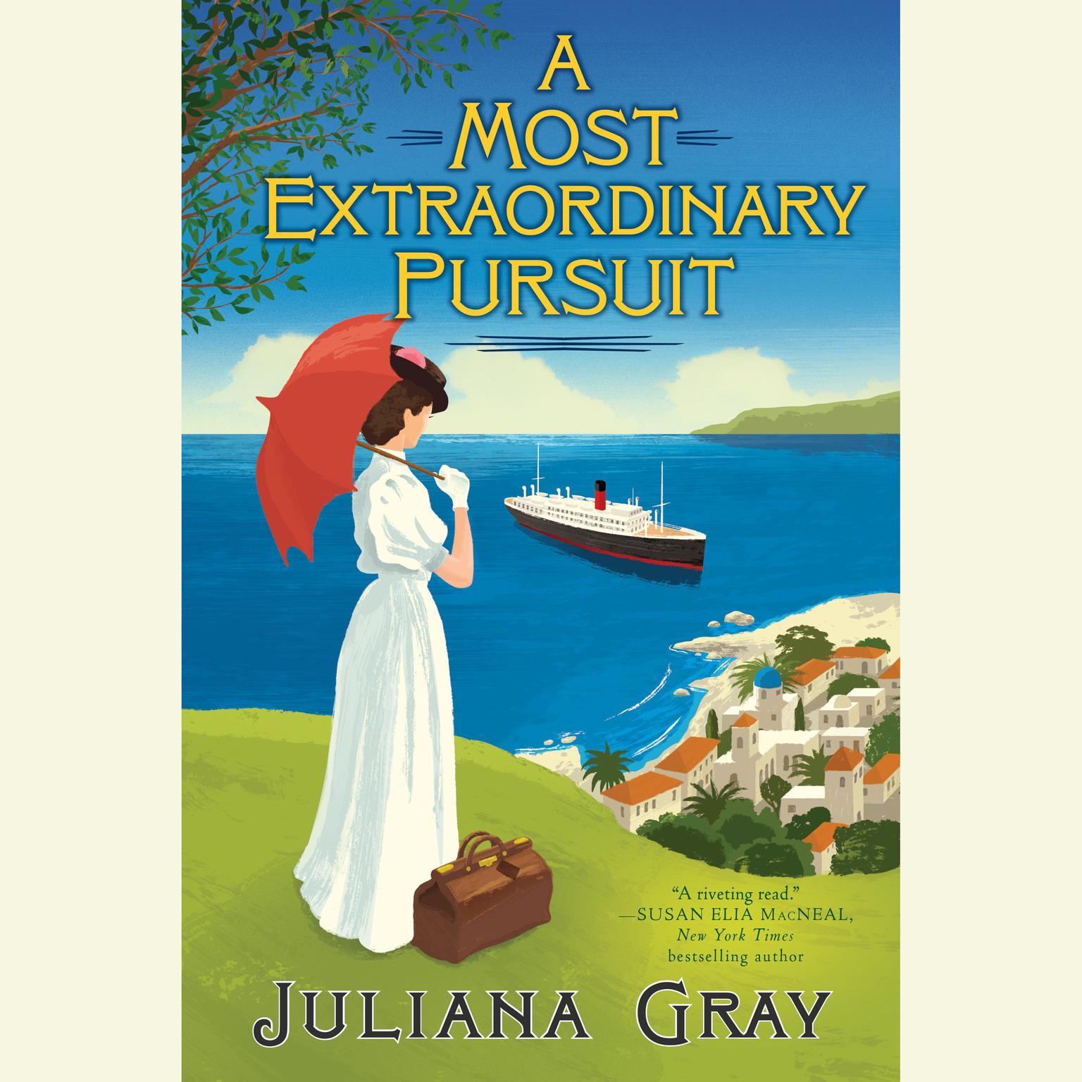 Printable A Most Extraordinary Pursuit Audiobook Cover Art