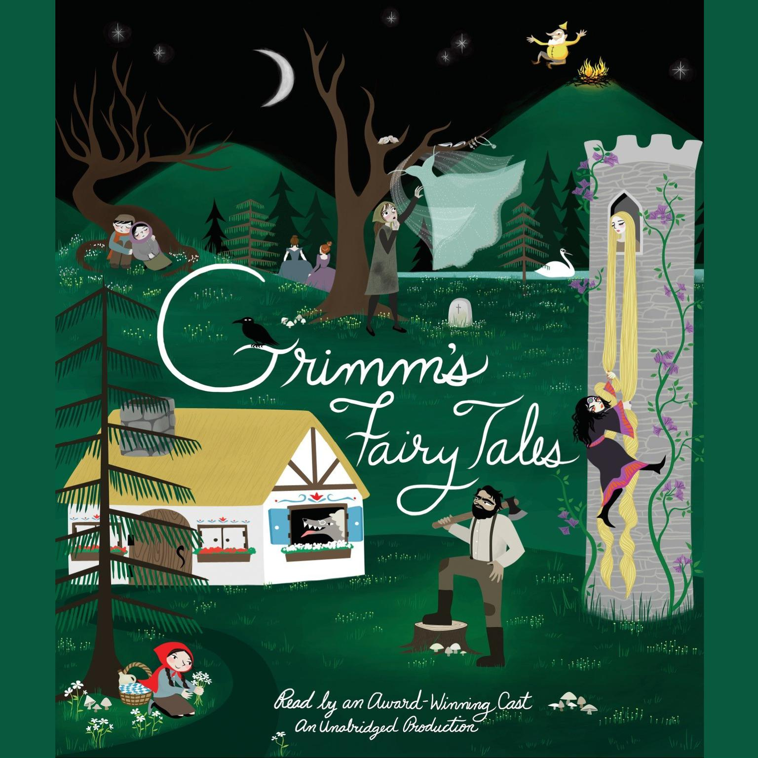 Printable Grimm's Fairy Tales Audiobook Cover Art