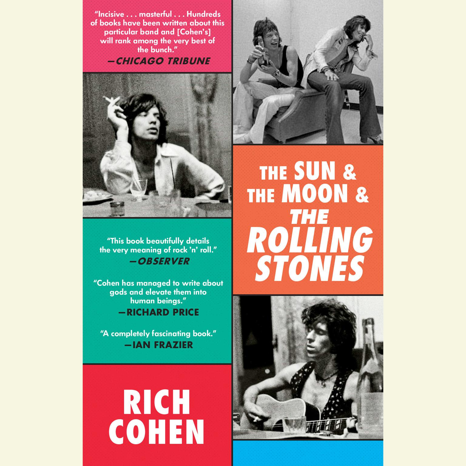 Printable The Sun & The Moon & The Rolling Stones Audiobook Cover Art