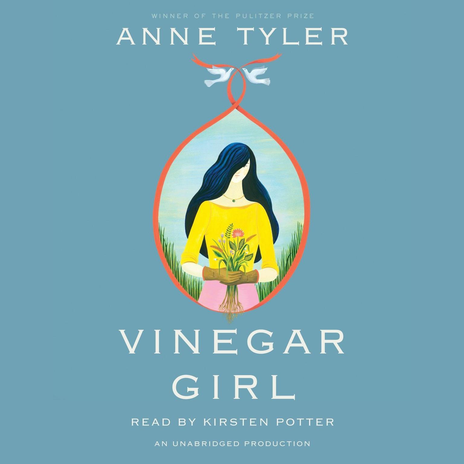 Printable Vinegar Girl: A Novel Audiobook Cover Art