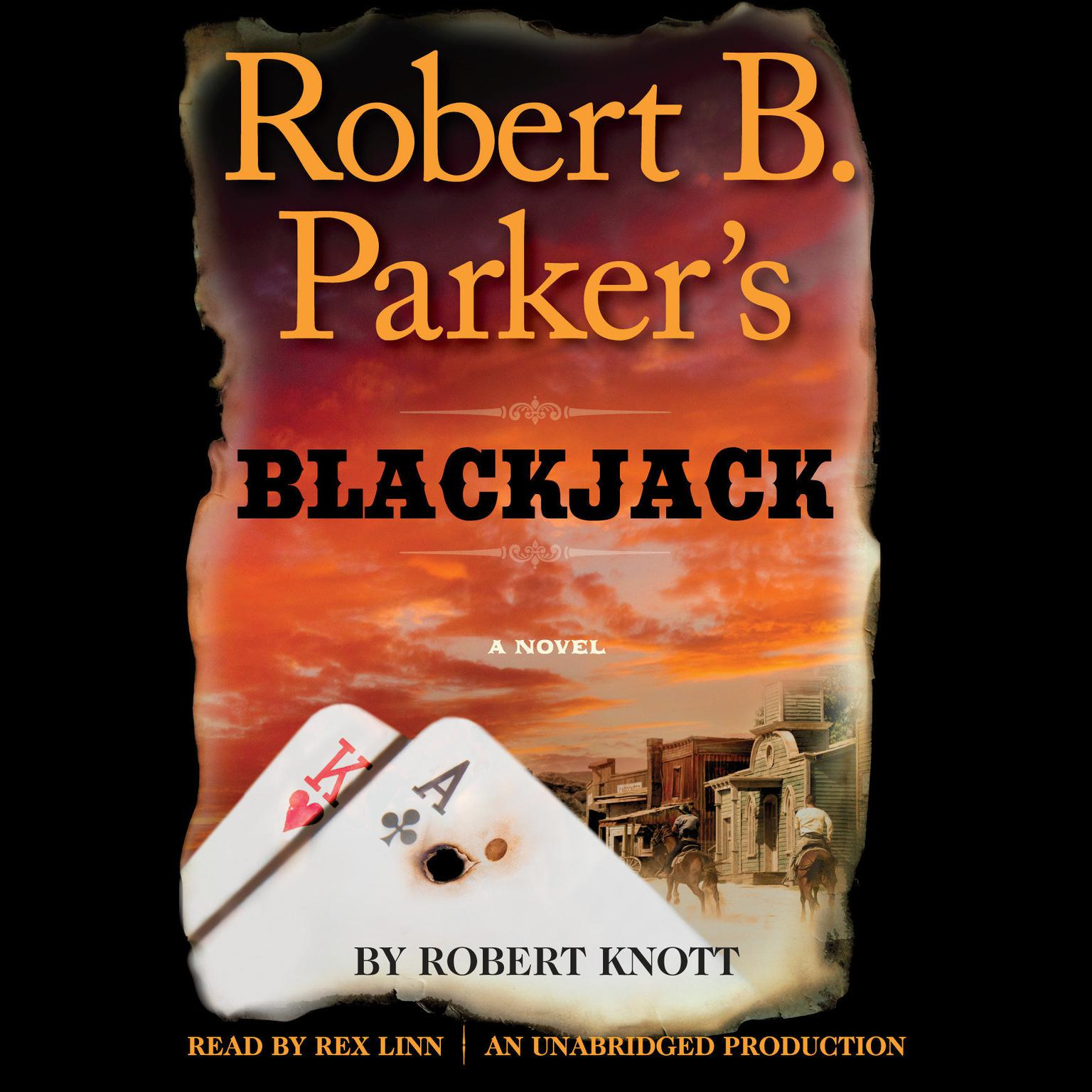 Printable Robert B. Parker's Blackjack Audiobook Cover Art