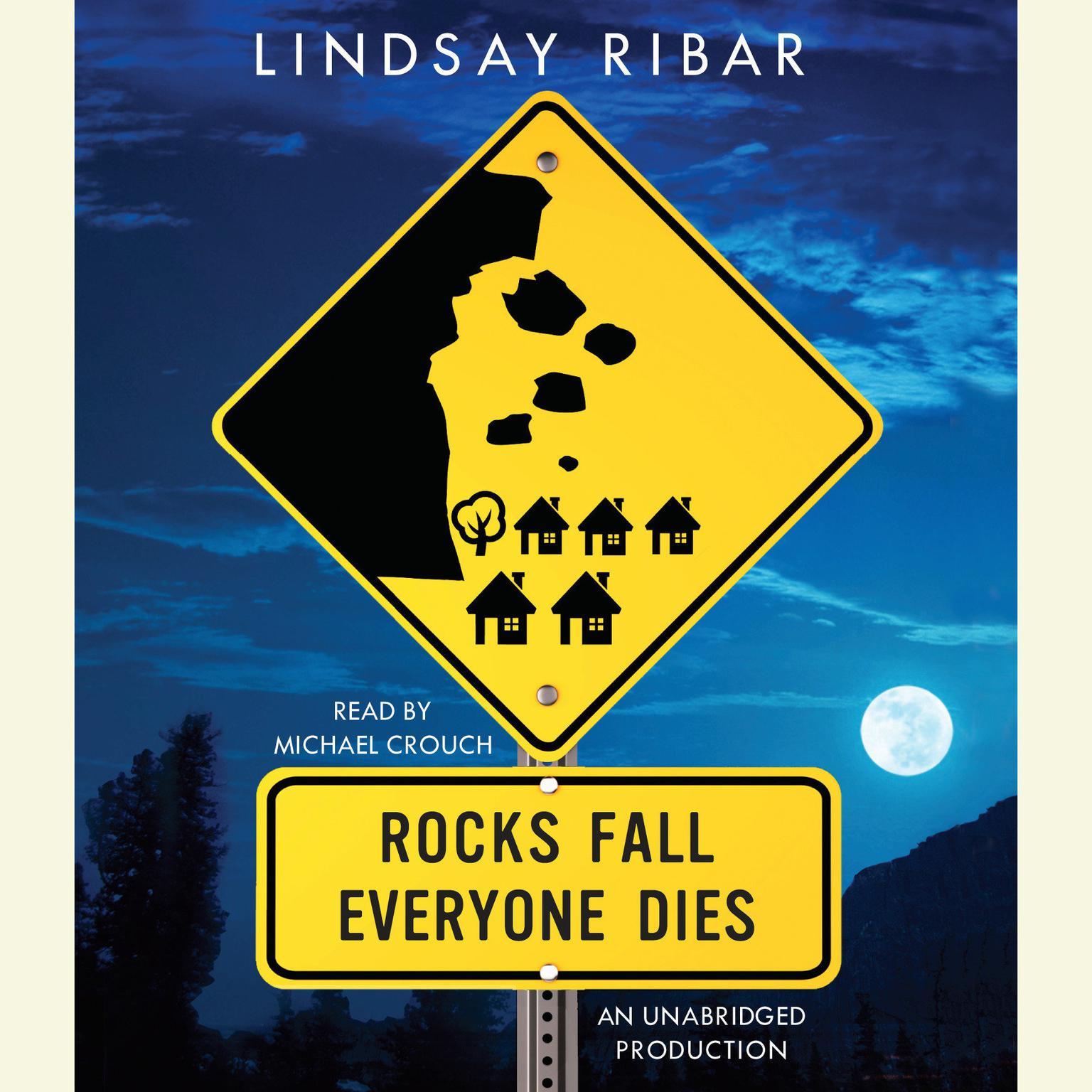 Printable Rocks Fall, Everyone Dies Audiobook Cover Art