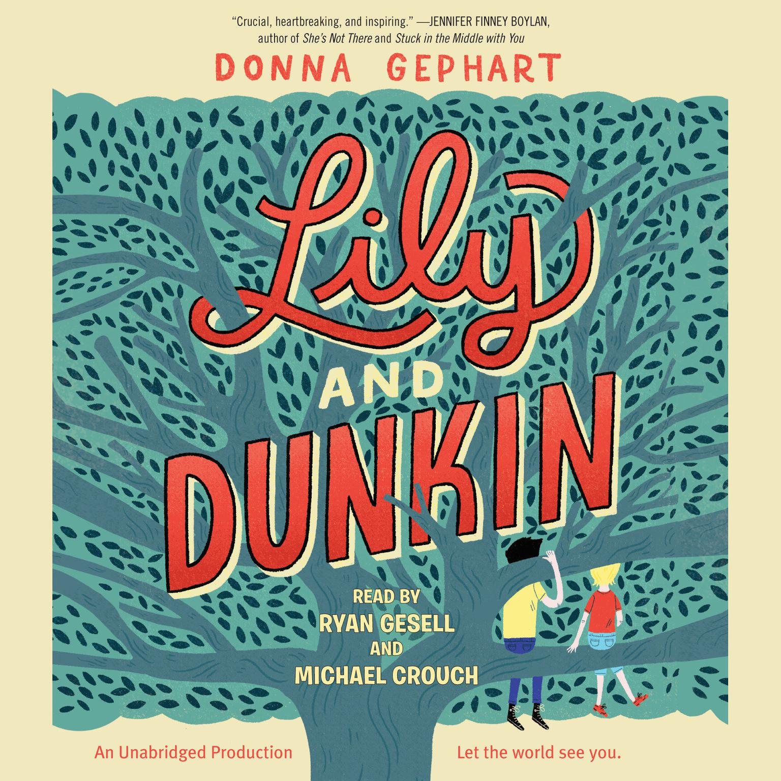 Printable Lily and Dunkin Audiobook Cover Art