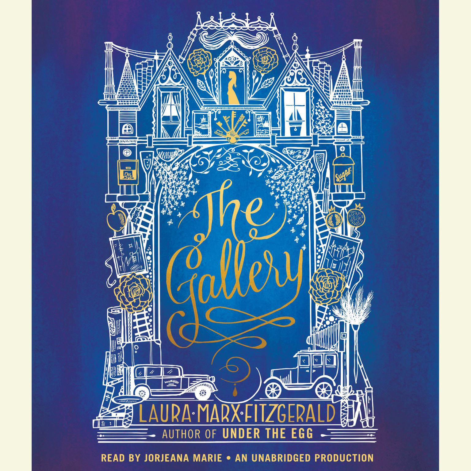 Printable The Gallery Audiobook Cover Art