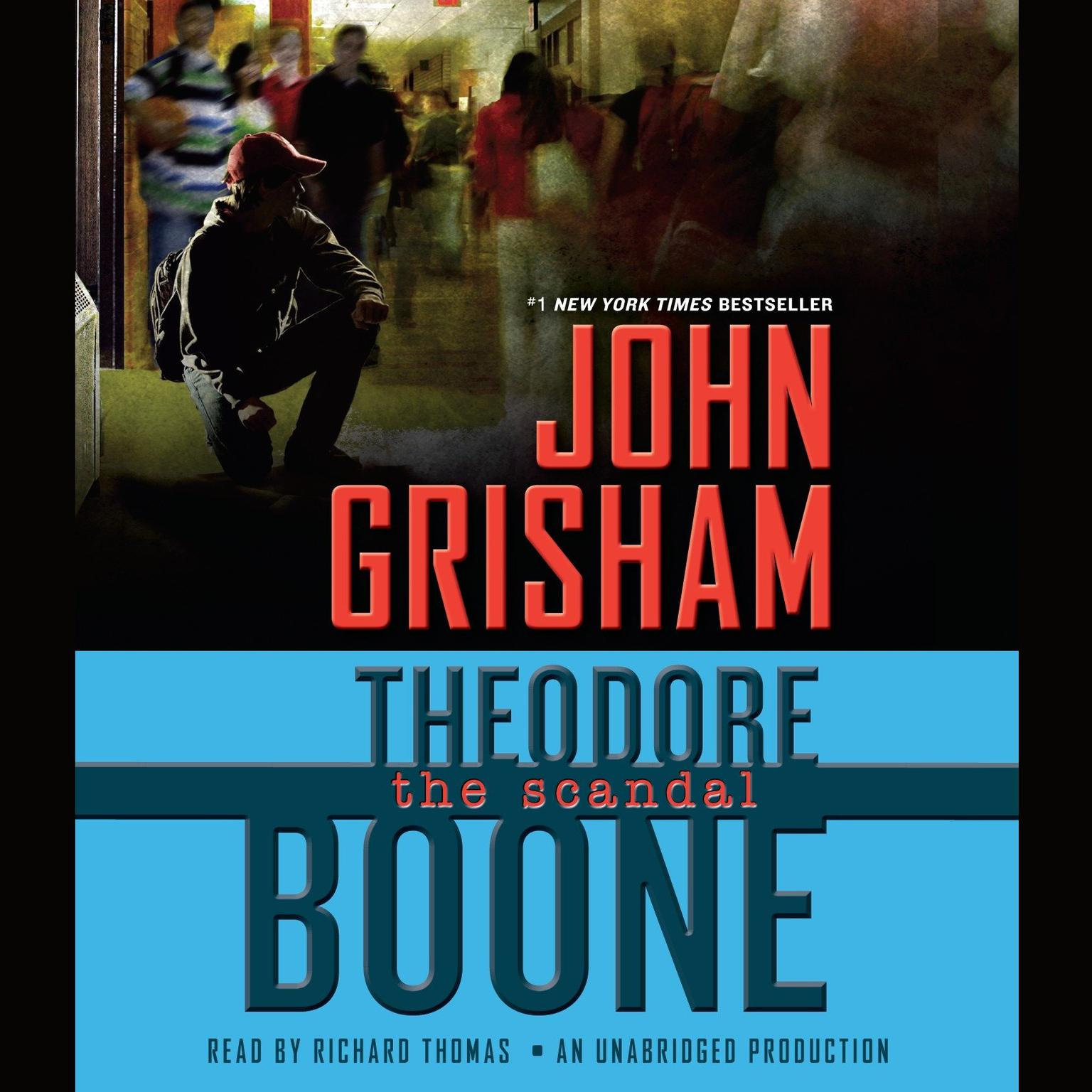 Printable Theodore Boone: The Scandal Audiobook Cover Art