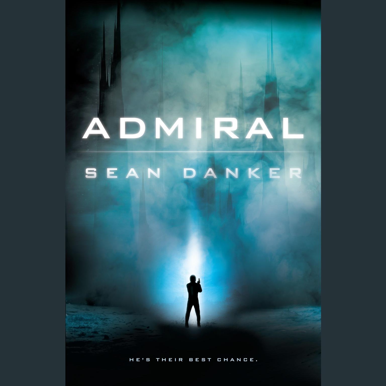 Printable Admiral Audiobook Cover Art