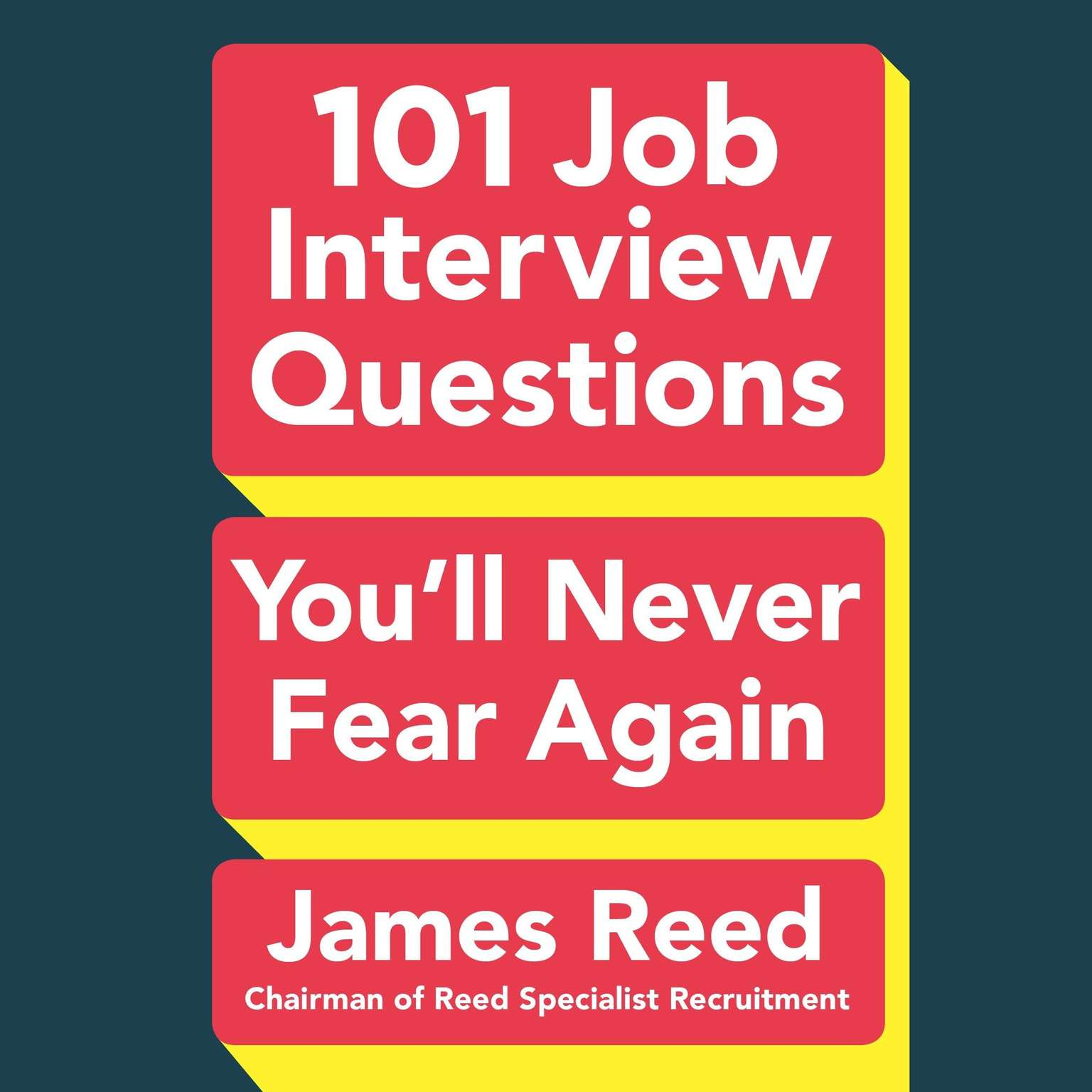 Printable 101 Job Interview Questions You'll Never Fear Again Audiobook Cover Art