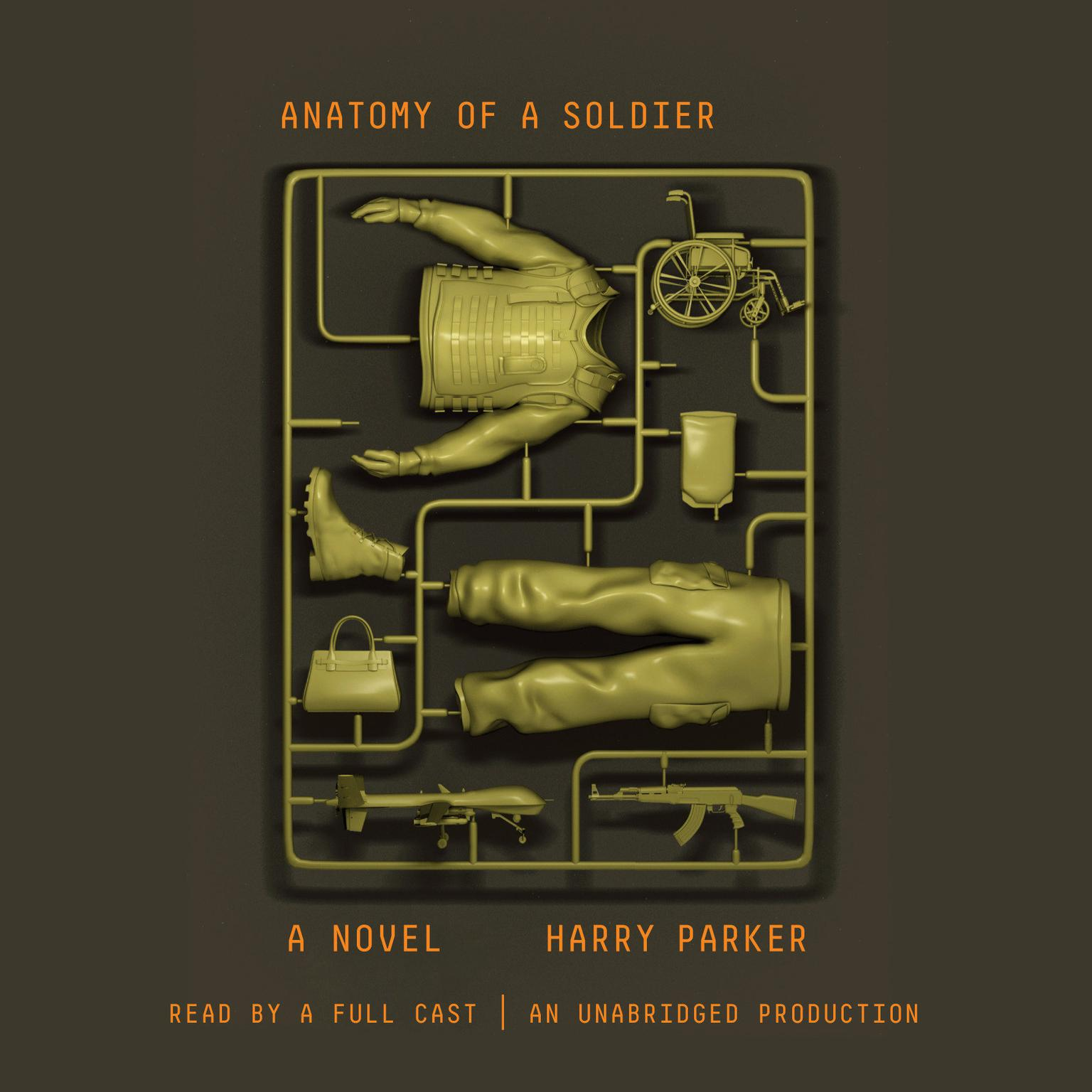 Printable Anatomy of a Soldier: A novel Audiobook Cover Art