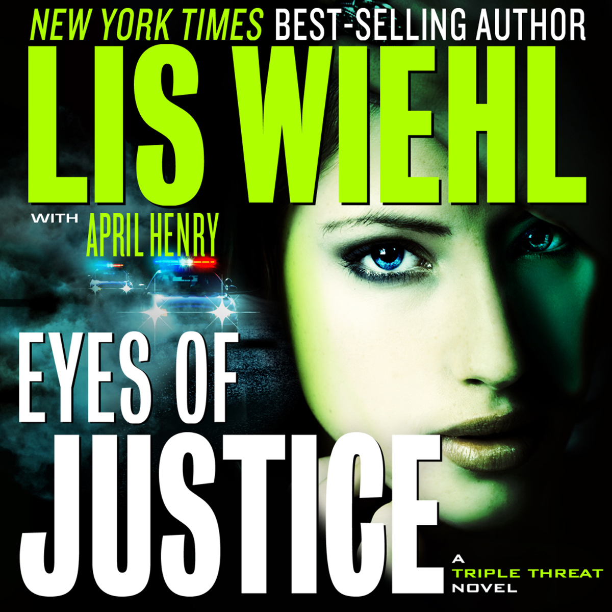 Printable Eyes of Justice Audiobook Cover Art