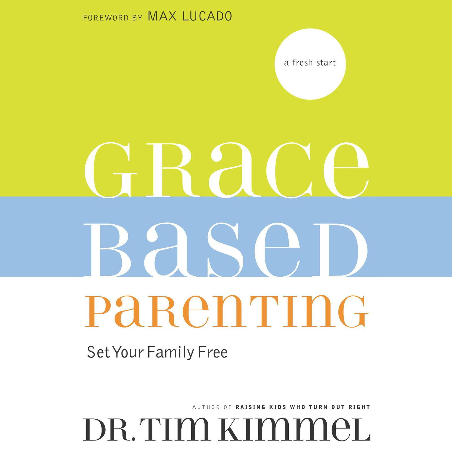 Printable Grace-Based Parenting Audiobook Cover Art