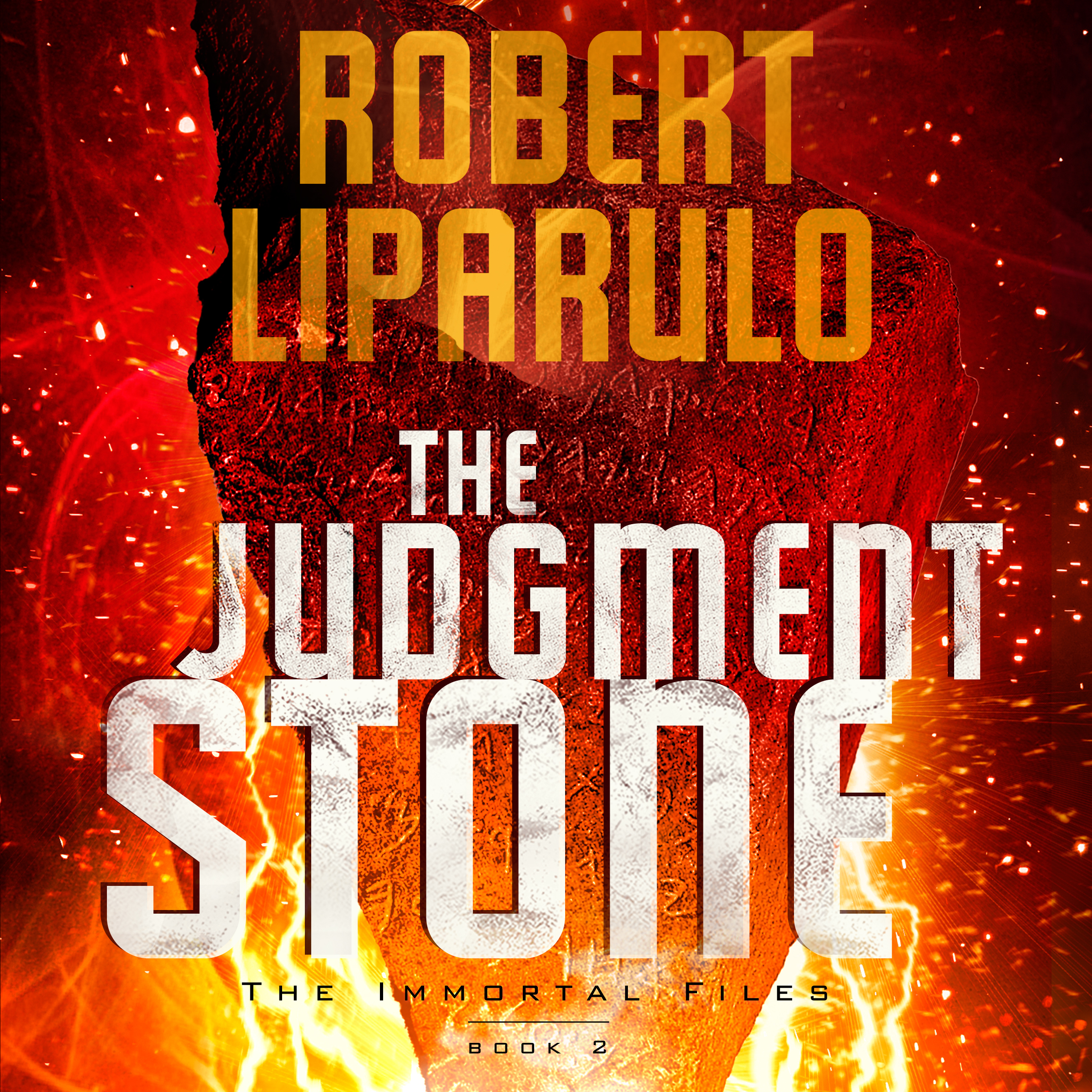 Printable The Judgment Stone Audiobook Cover Art