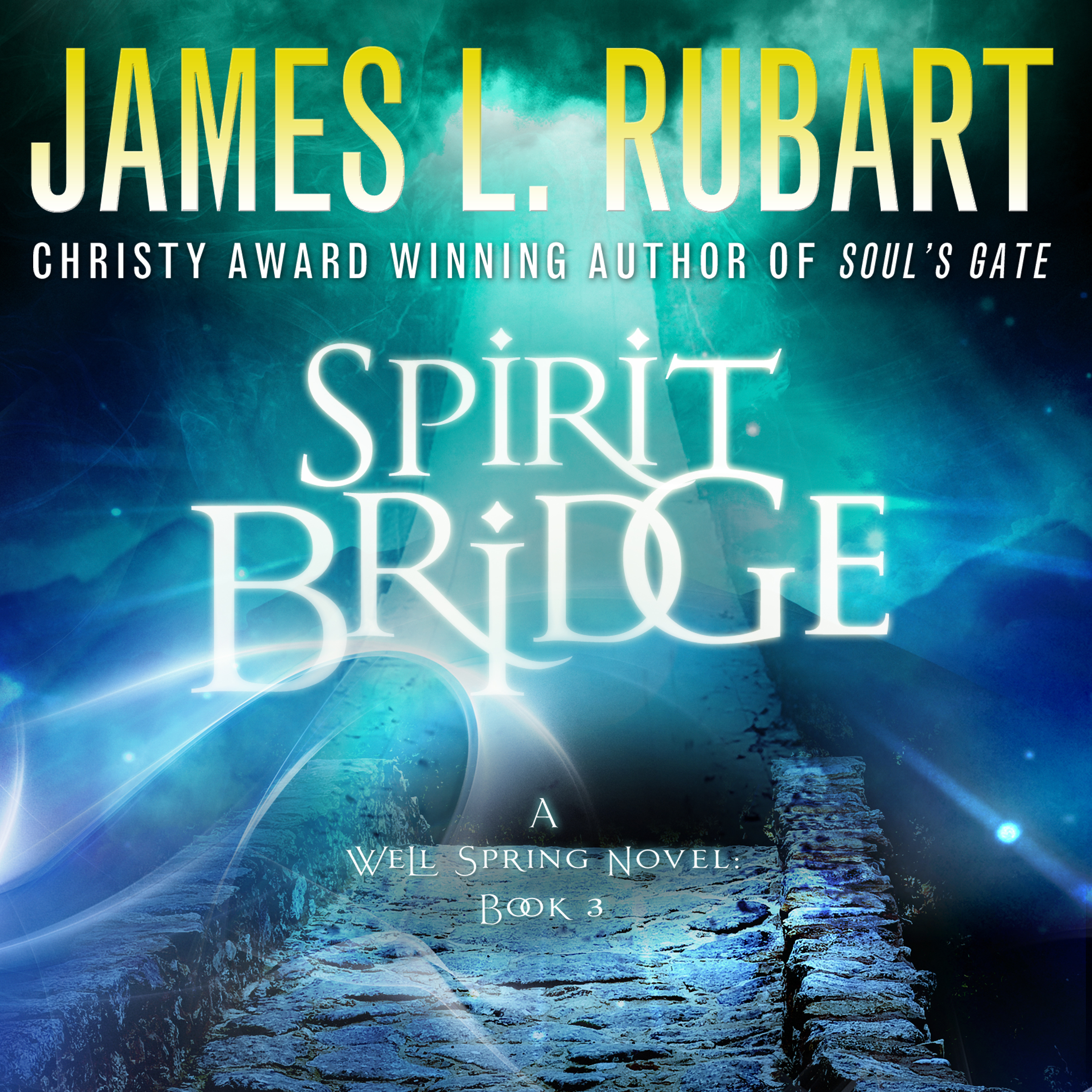 Printable Spirit Bridge Audiobook Cover Art