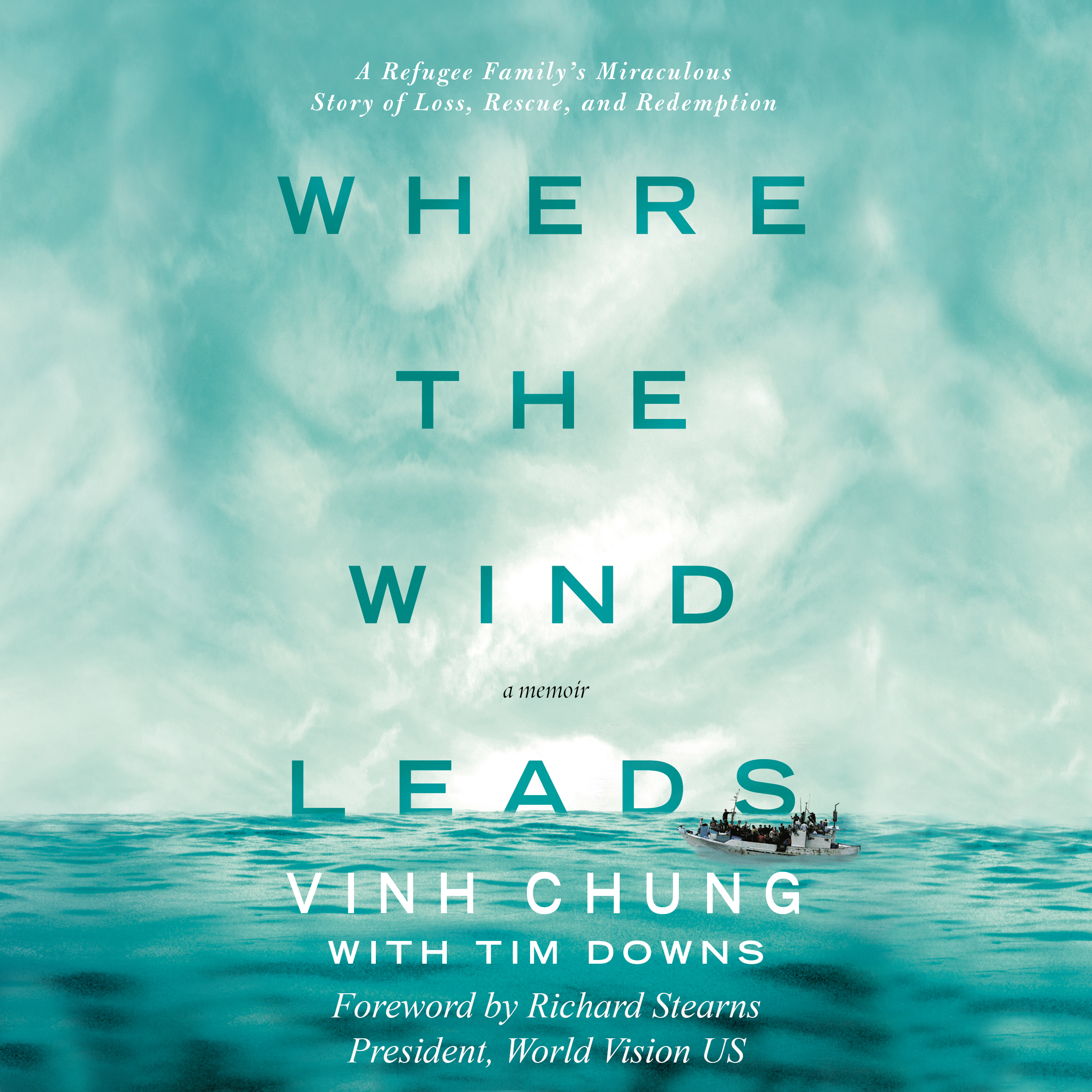 Printable Where the Wind Leads: A Refugee Family's Miraculous Story of Loss, Rescue, and Redemption Audiobook Cover Art