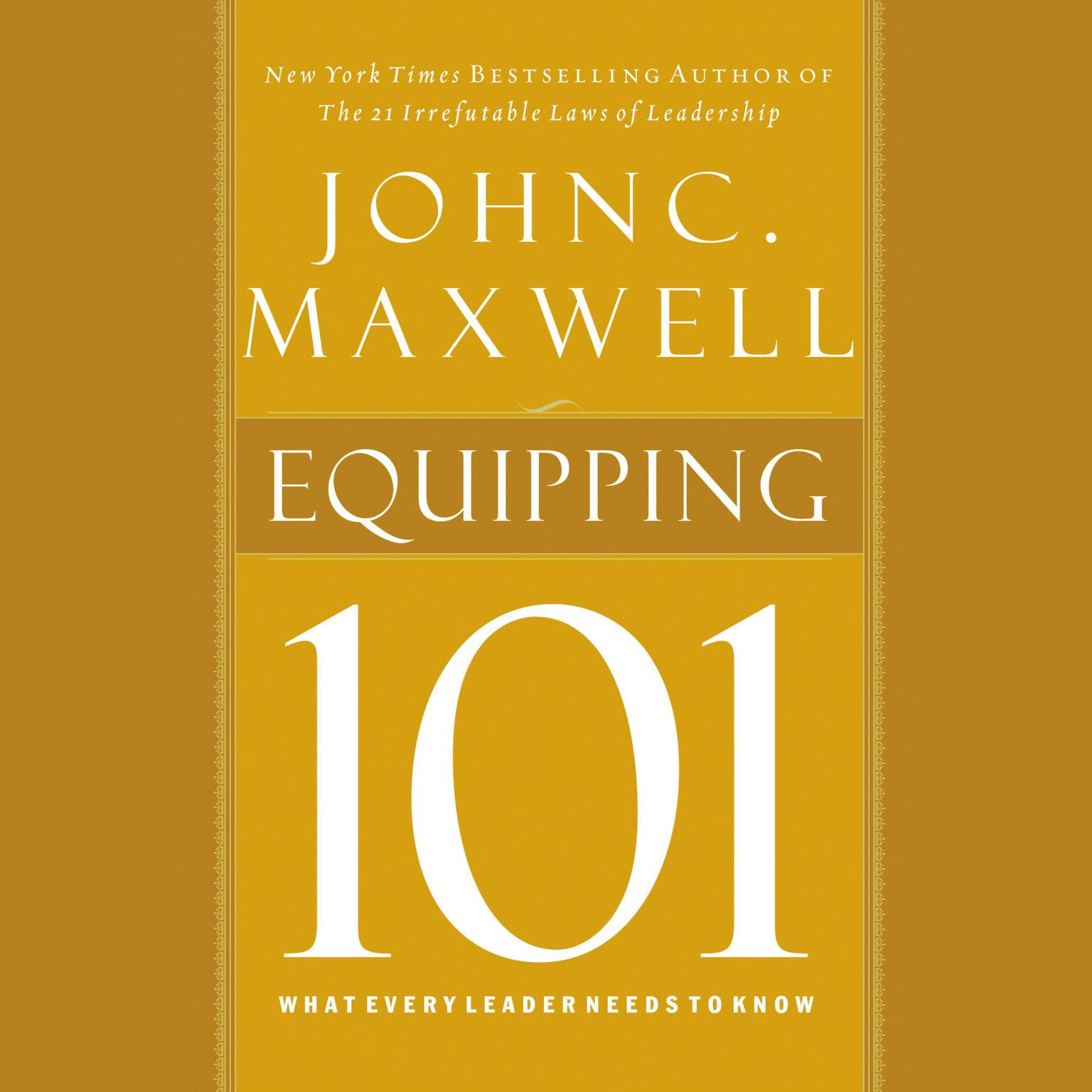 Printable Equipping 101: What Every Leader Needs to Know Audiobook Cover Art