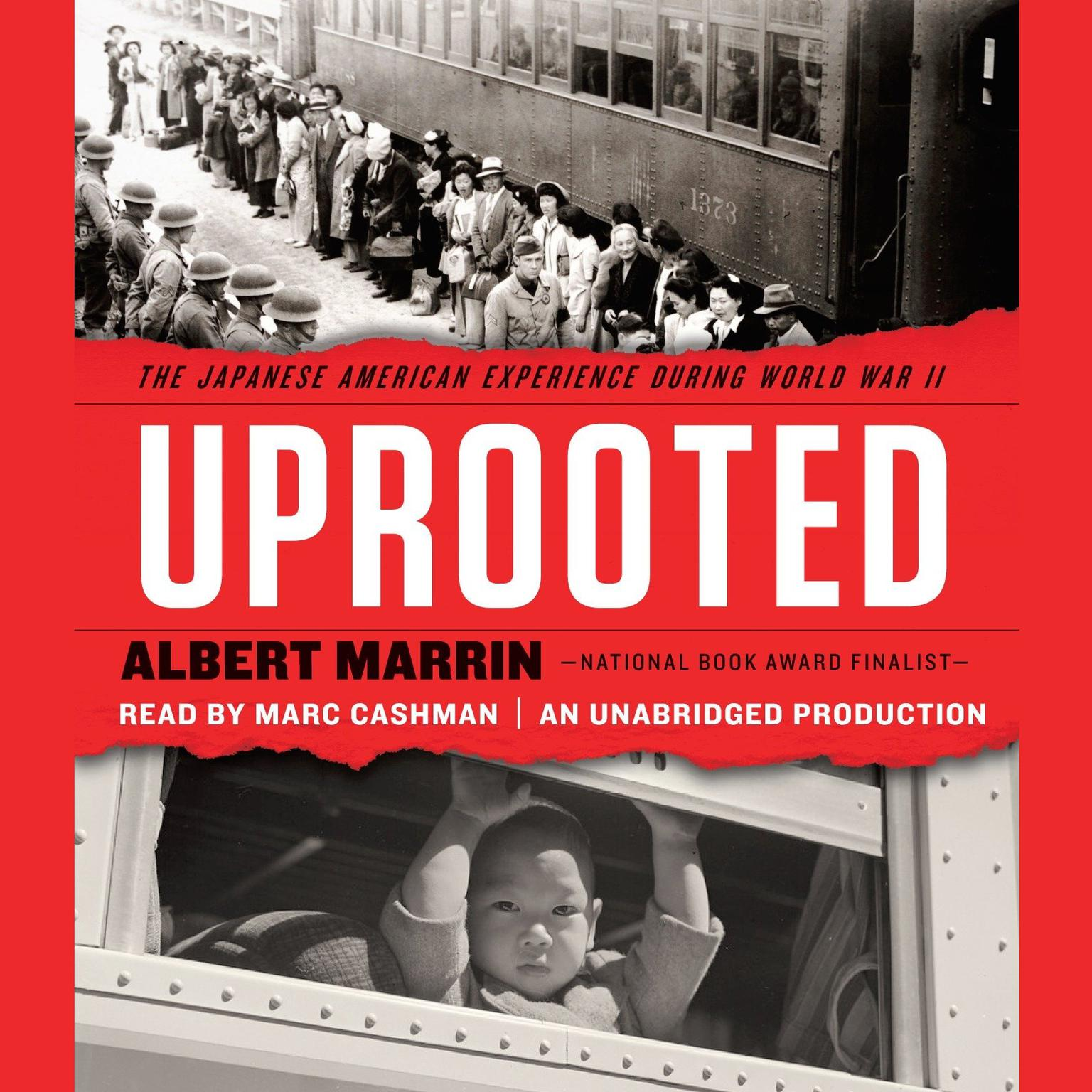 Printable Uprooted: The Japanese American Experience During World War II Audiobook Cover Art