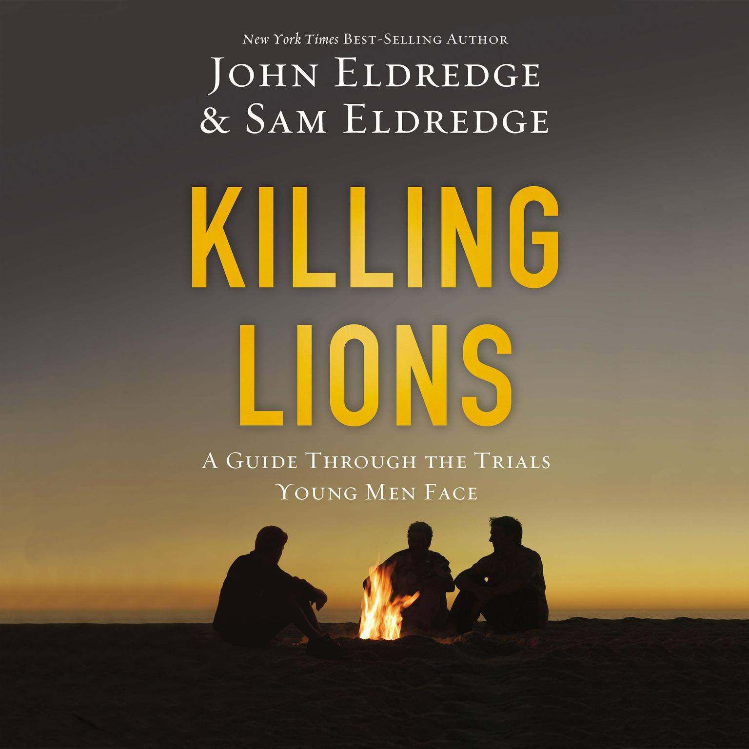 Printable Killing Lions: A Guide Through the Trials Young Men Face Audiobook Cover Art