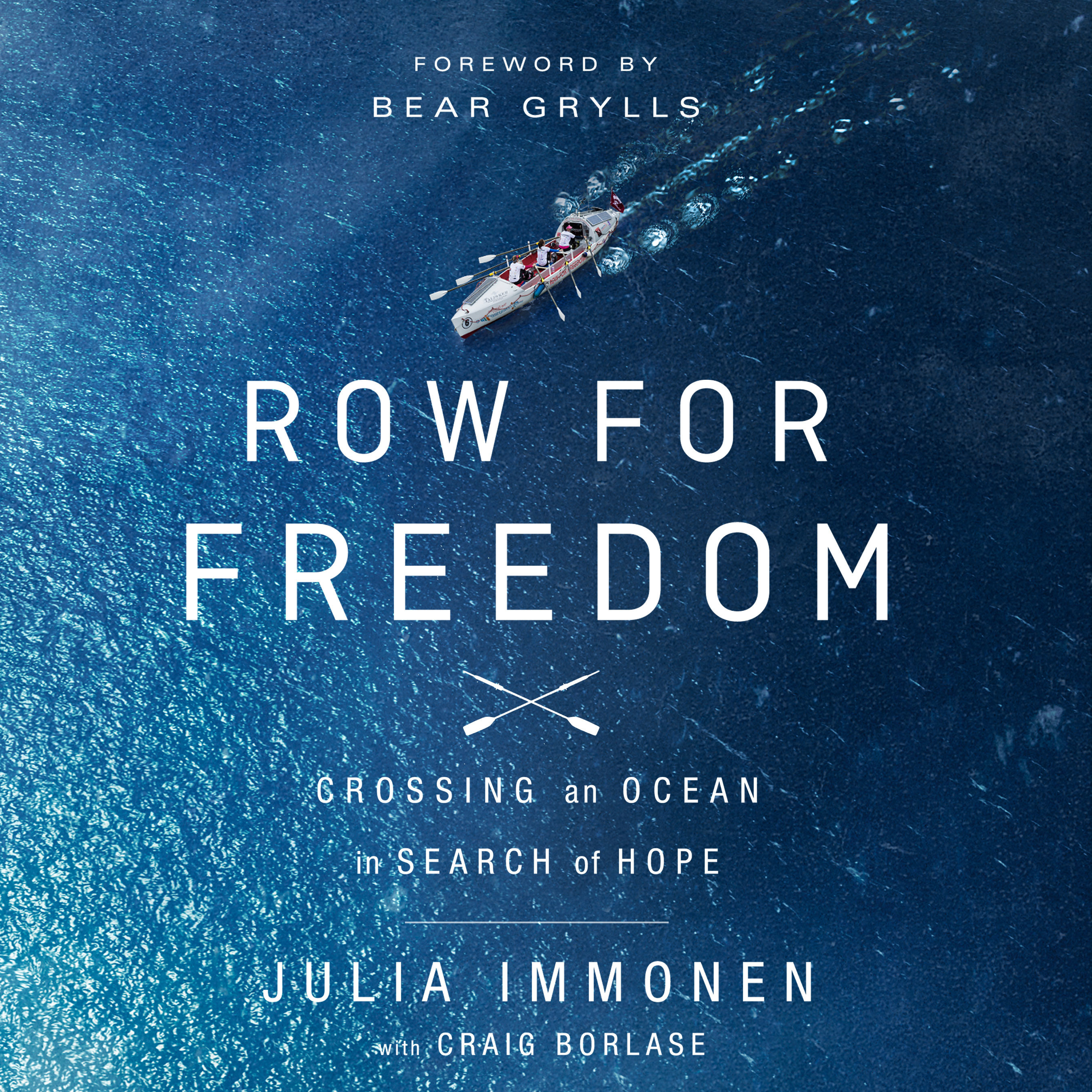 Printable Row for Freedom: Crossing an Ocean in Search of Hope Audiobook Cover Art