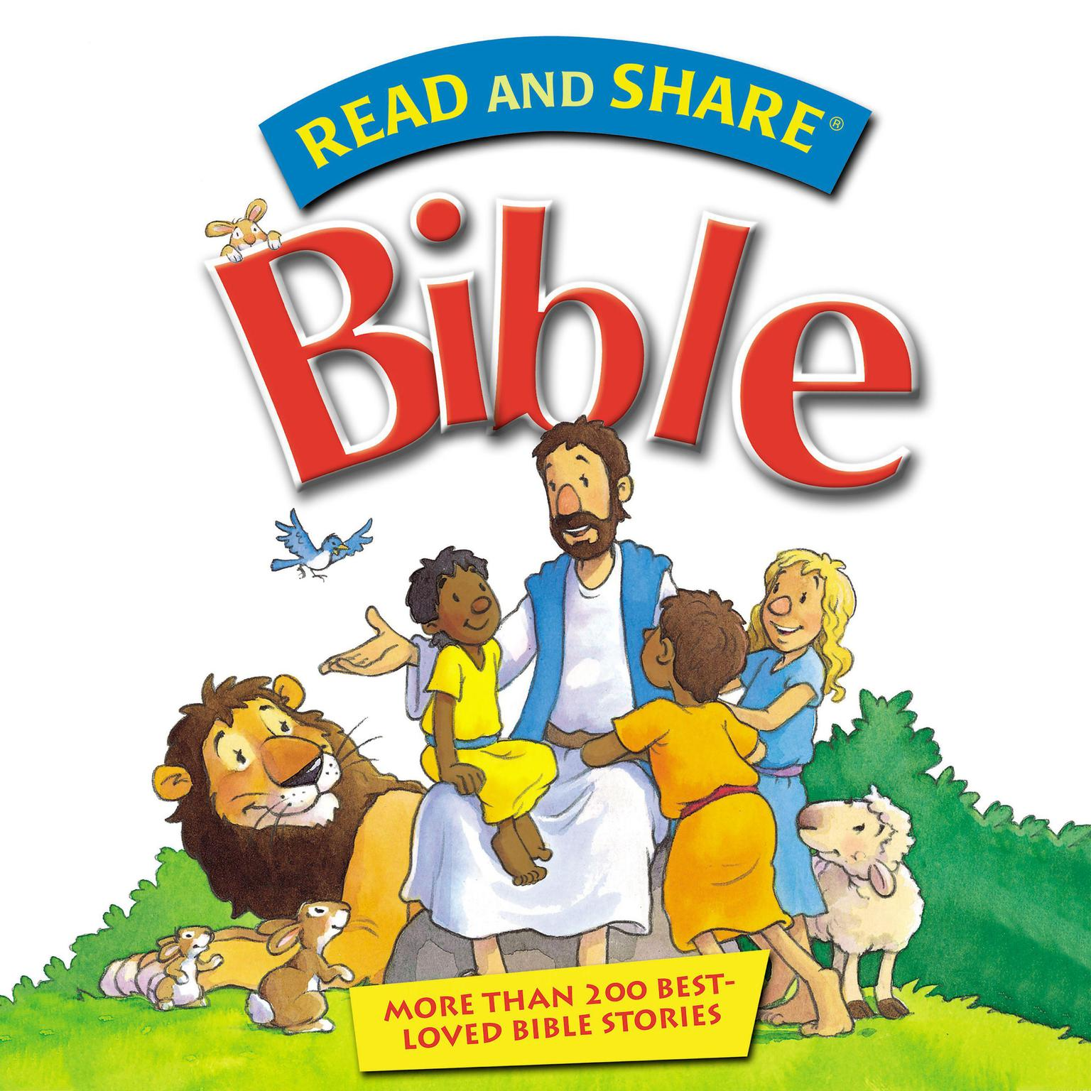Printable The Read and Share Bible: Over 200 Best Loved Bible Stories Audiobook Cover Art