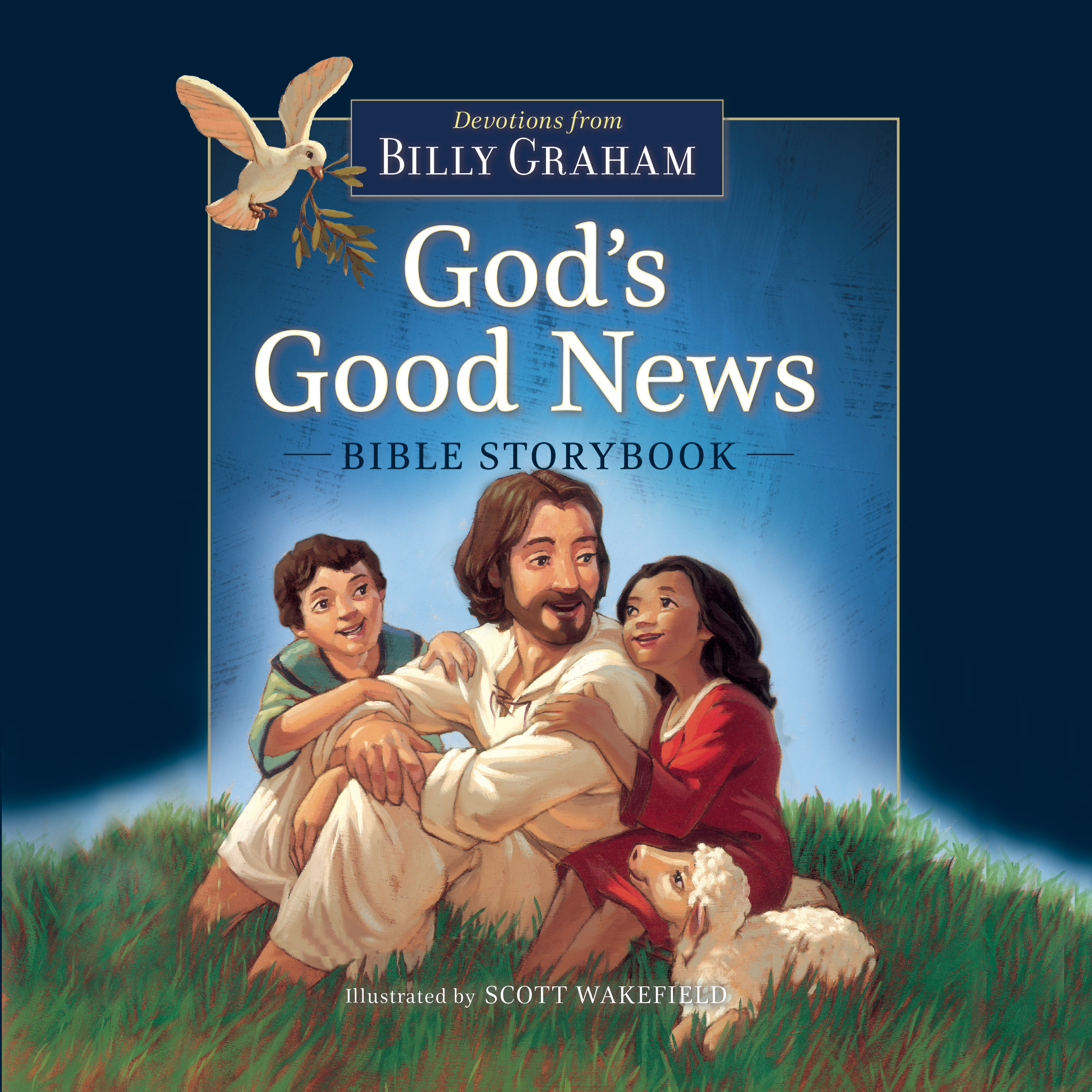 Printable God's Good News Bible Storybook Audiobook Cover Art