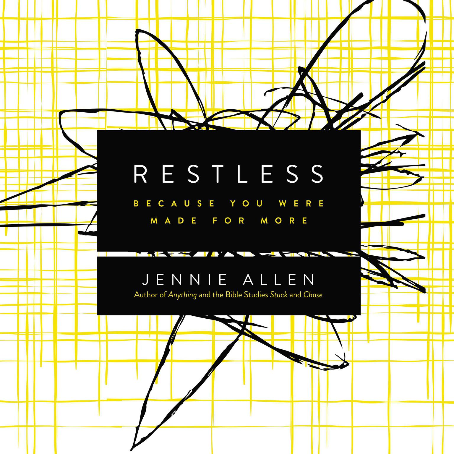 Printable Restless: Because You Were Made for More Audiobook Cover Art