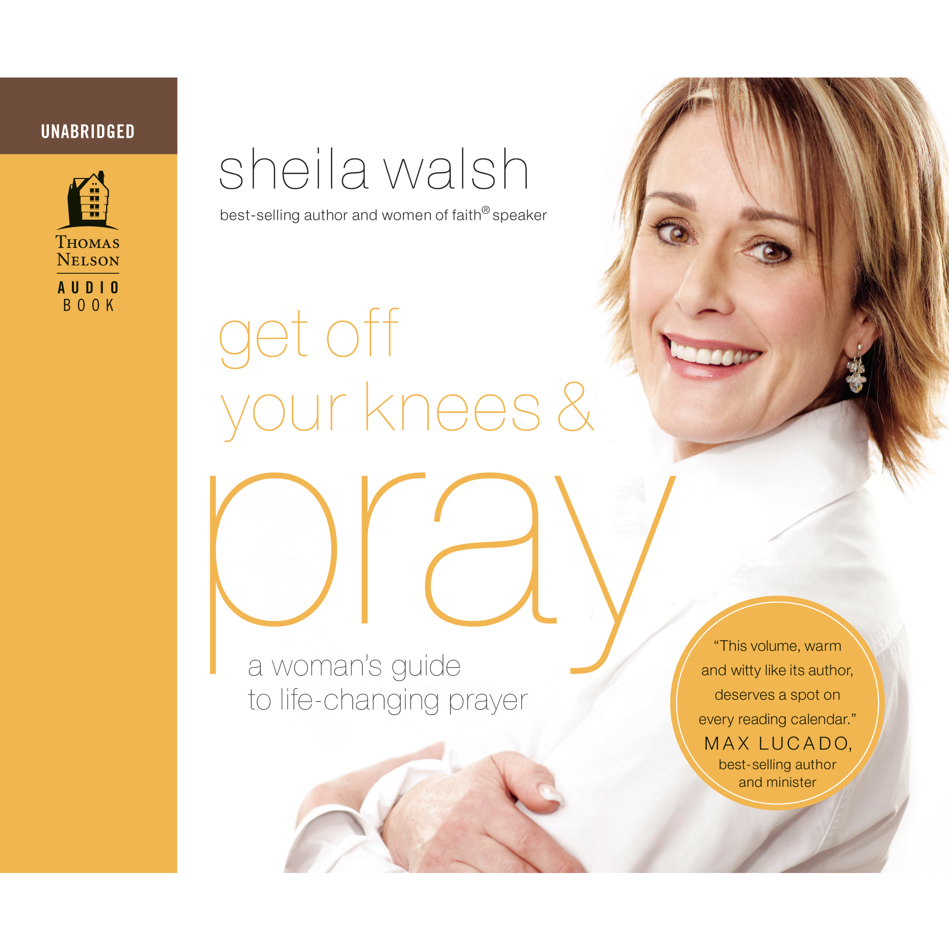Printable Get Off Your Knees and Pray: Audio Book on CD Audiobook Cover Art