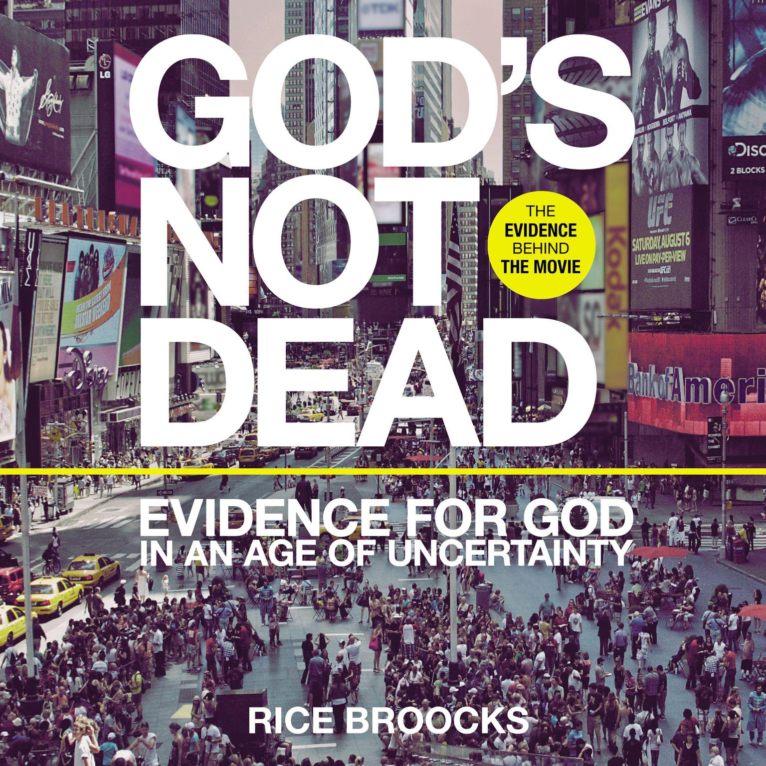 Printable God's Not Dead: Evidence for God in an Age of Uncertainty Audiobook Cover Art