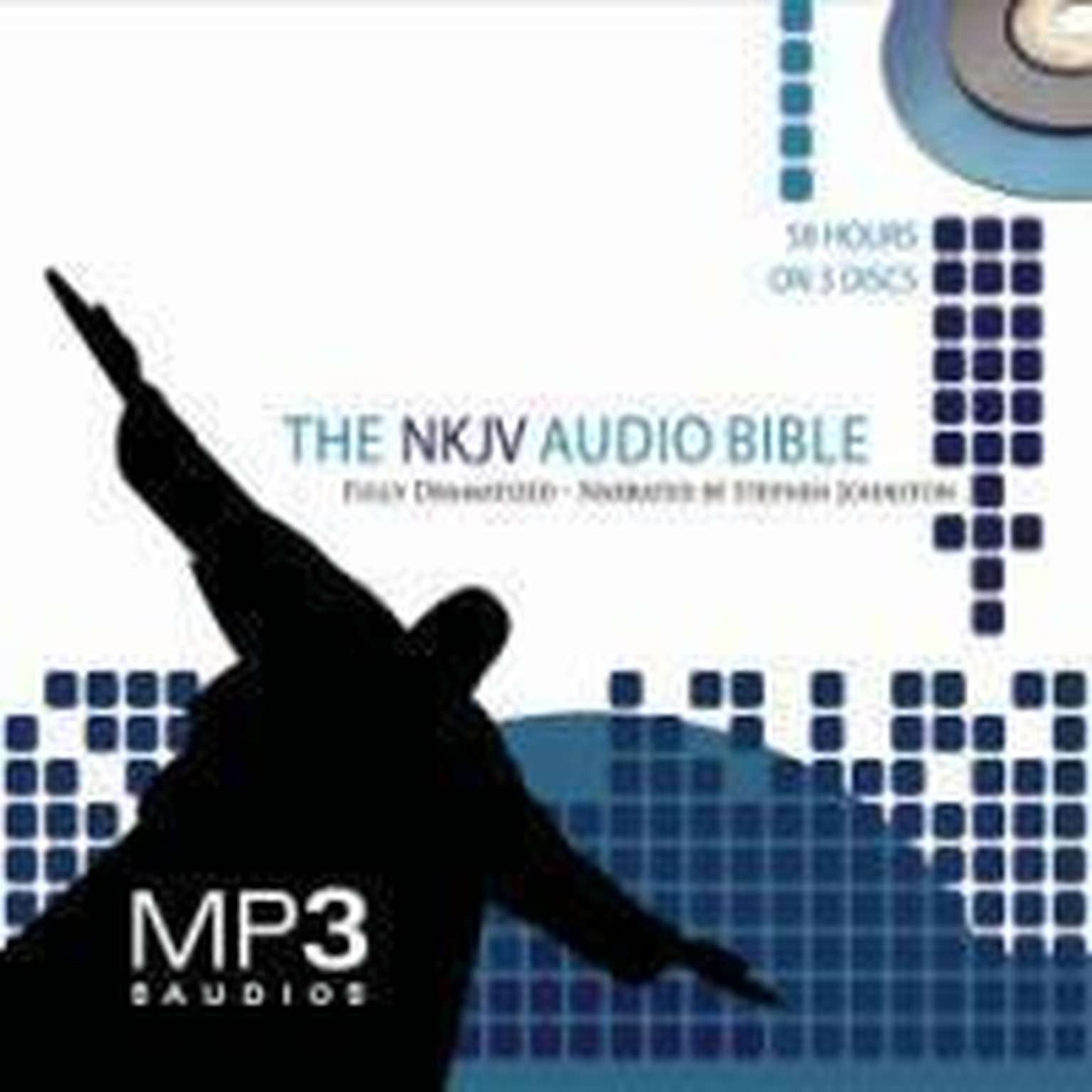 Printable NKJV Dramatized Audio Bible Audiobook Cover Art