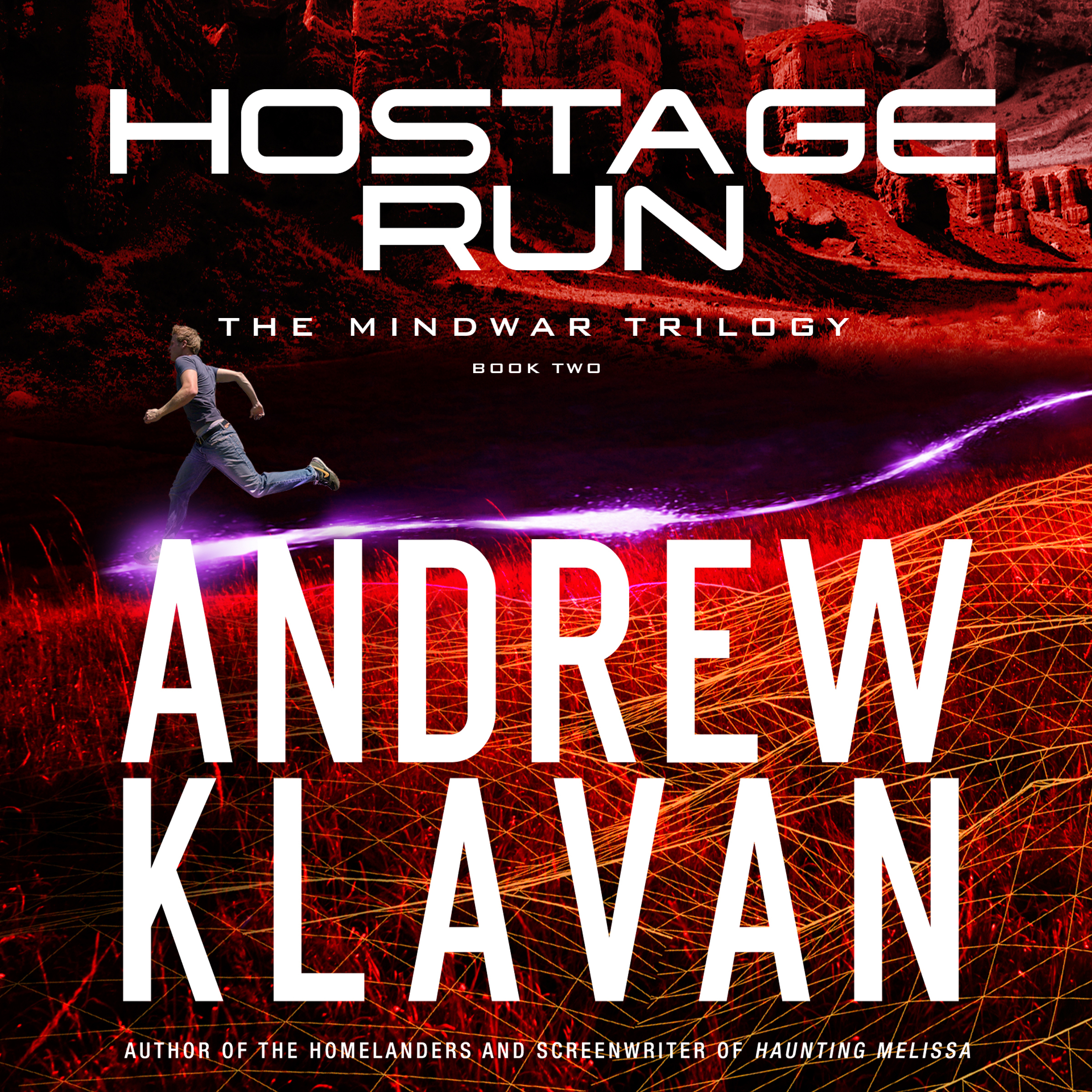 Printable Hostage Run Audiobook Cover Art