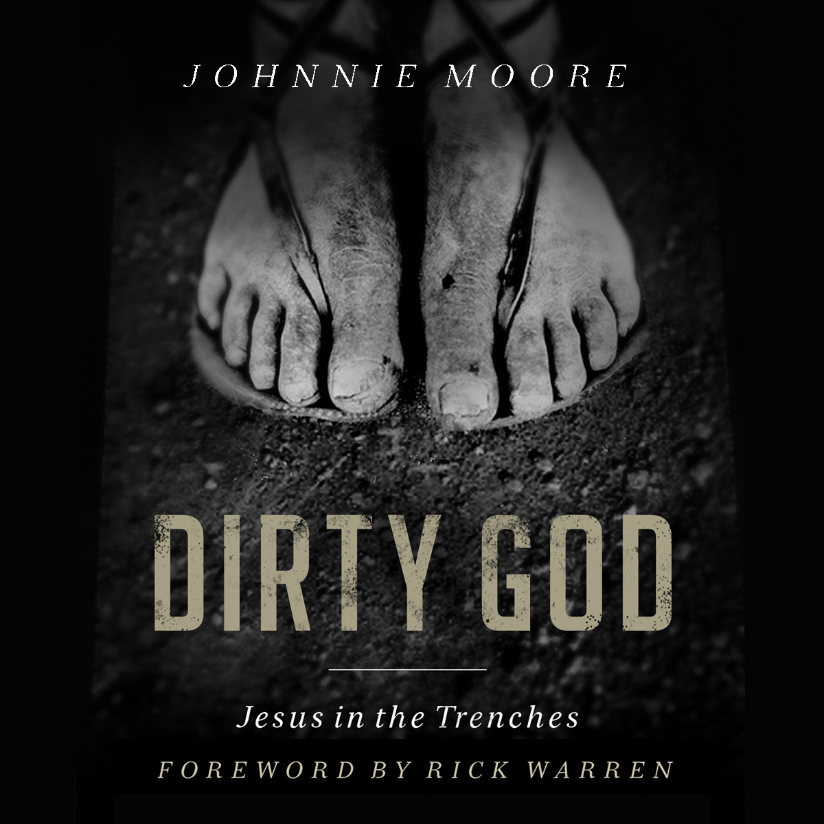 Printable Dirty God: Jesus in the Trenches Audiobook Cover Art